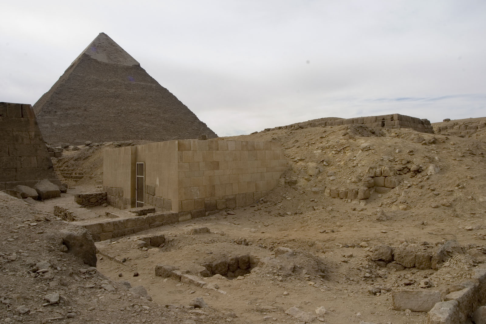 Western Cemetery: Site: Giza; View: G 5140
