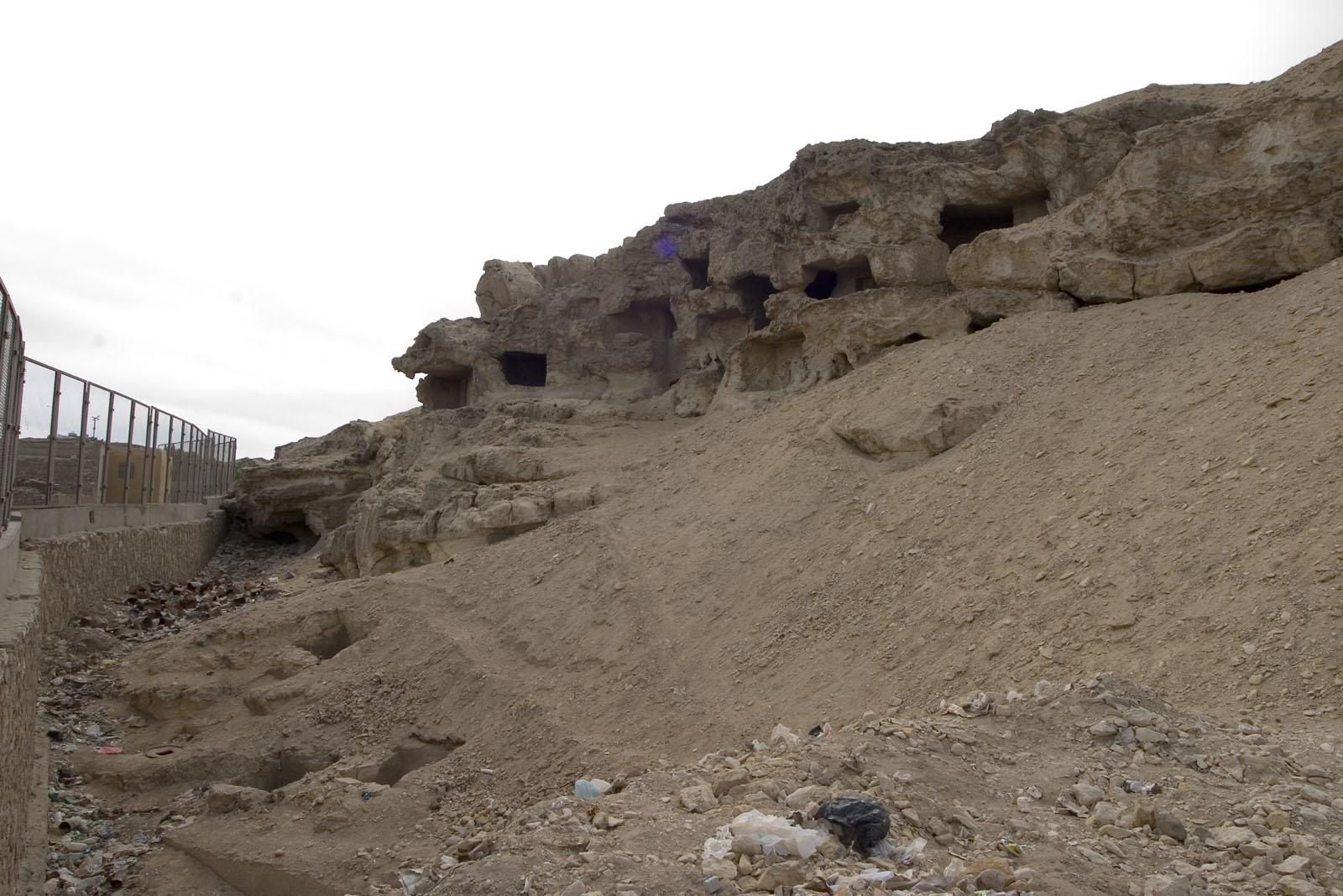 Eastern Cemetery: Site: Giza; View: Lepsius 78, Lepsius 79, Lepsius 80