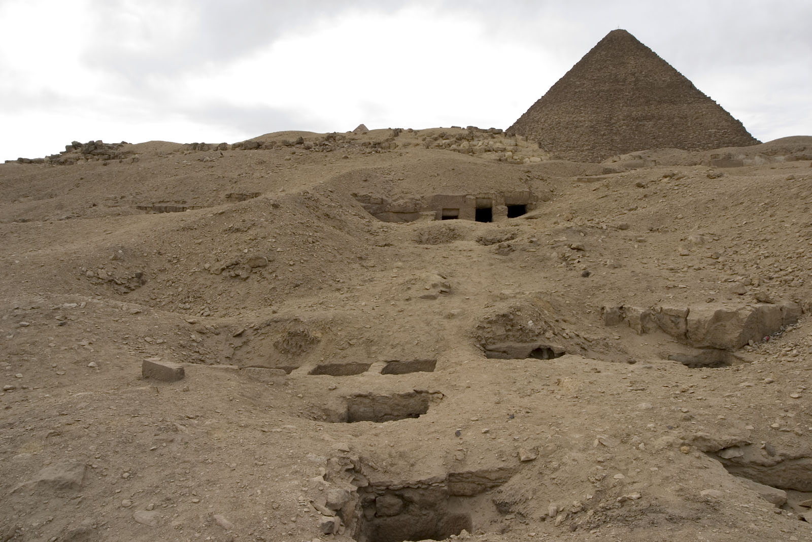 Eastern Cemetery: Site: Giza; View: G 7801-G 7809, G 7811, G 7812a, G 7812b