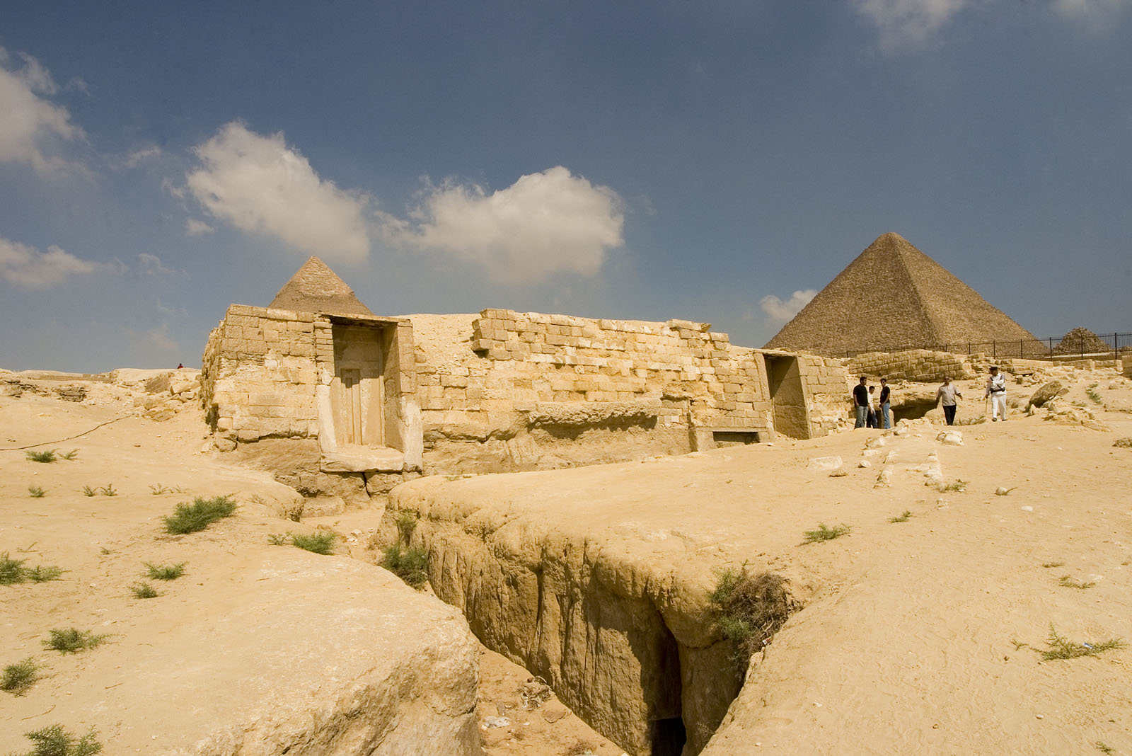 Central Field (Hassan): Site: Giza; View: G 8960