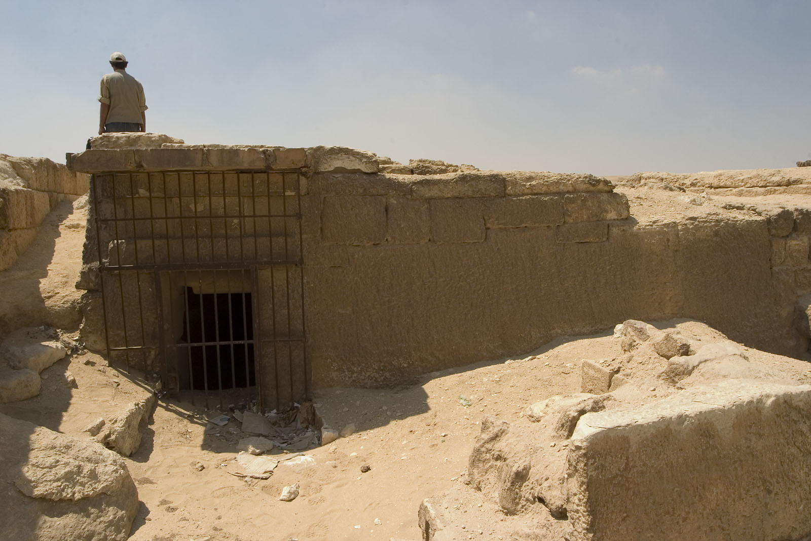Central Field (Hassan): Site: Giza; View: G 8733