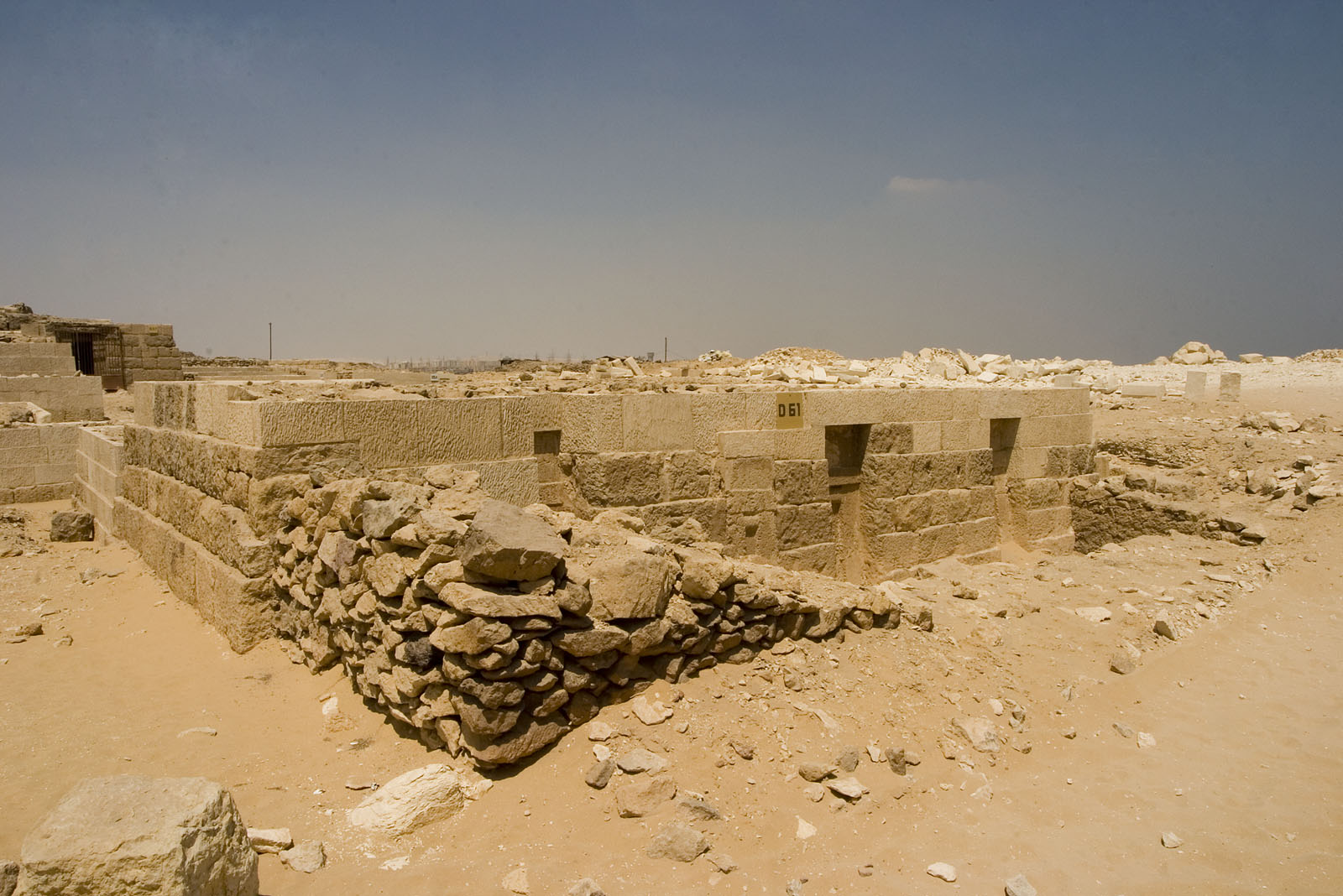 Western Cemetery: Site: Giza; View: D 61