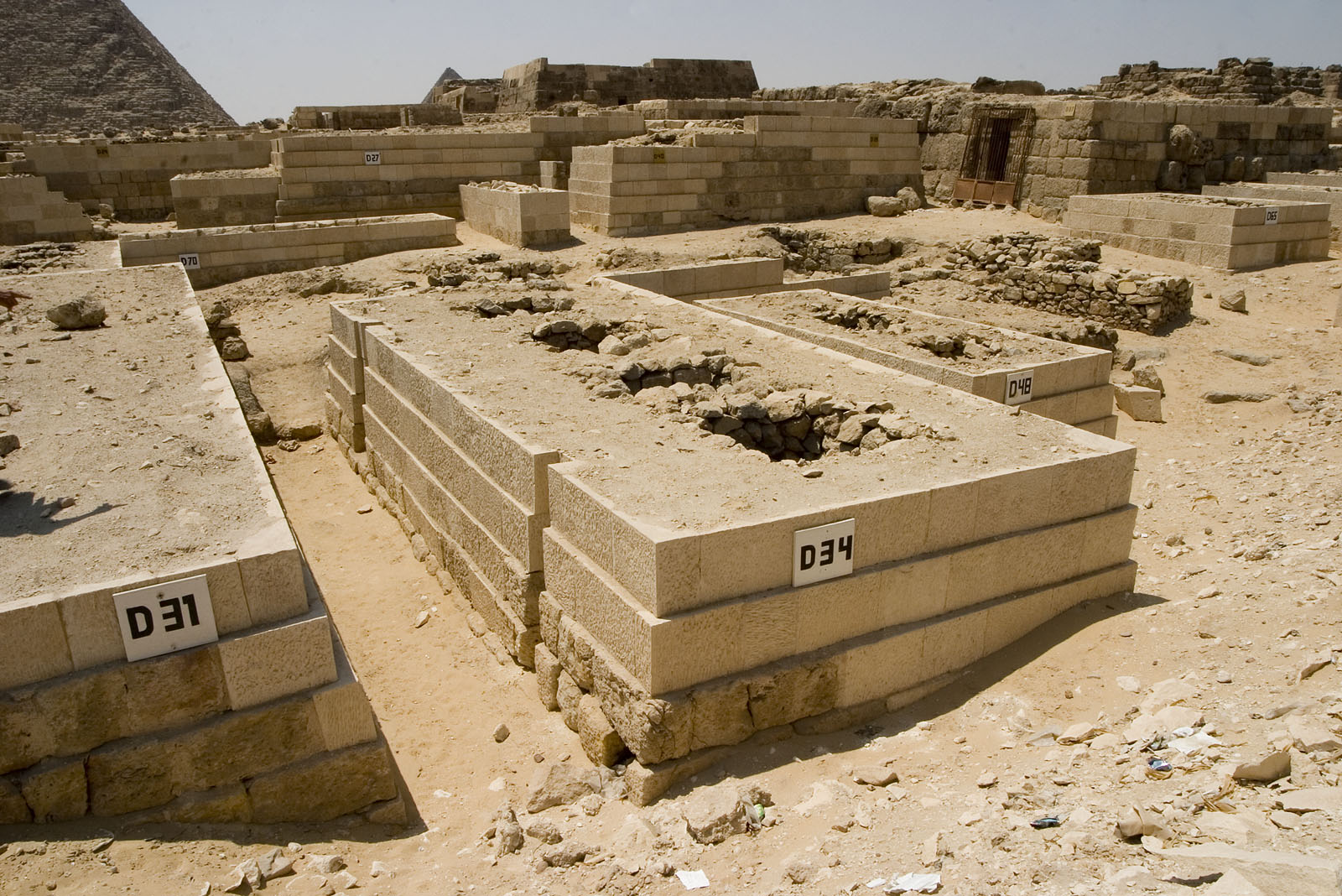 Western Cemetery: Site: Giza; View: D 31, D 34