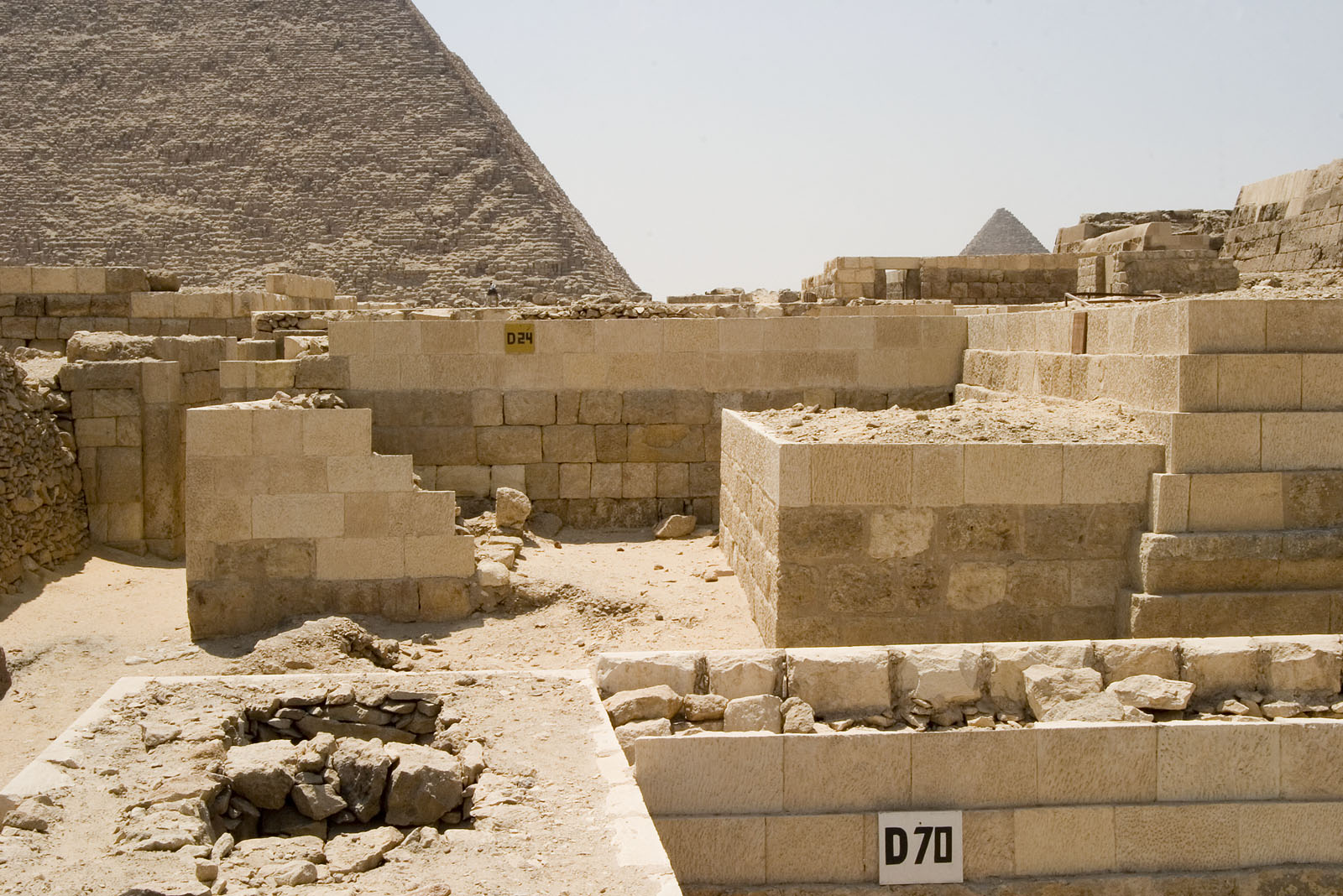 Western Cemetery: Site: Giza; View: D 70, D 24