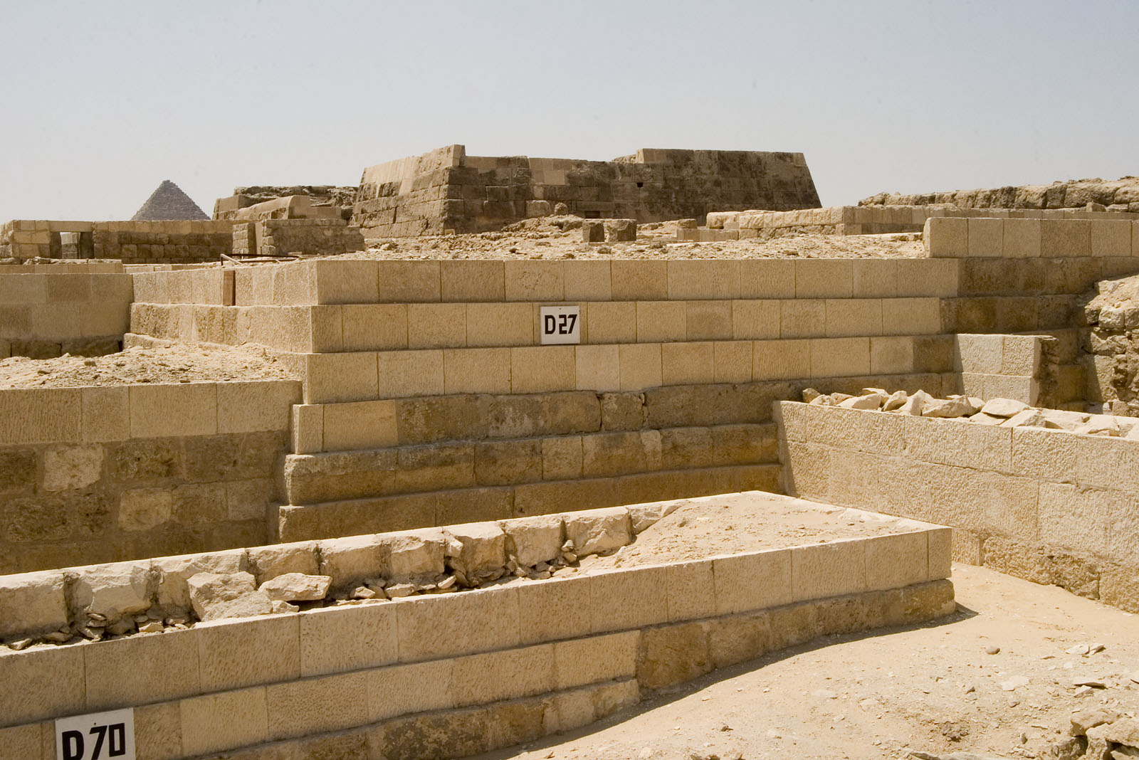 Western Cemetery: Site: Giza; View: D 70, D 27