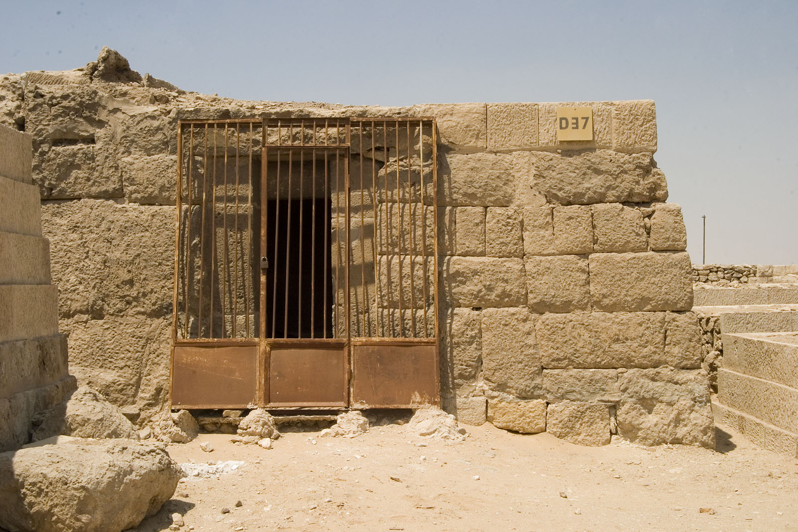 Western Cemetery: Site: Giza; View: D 37