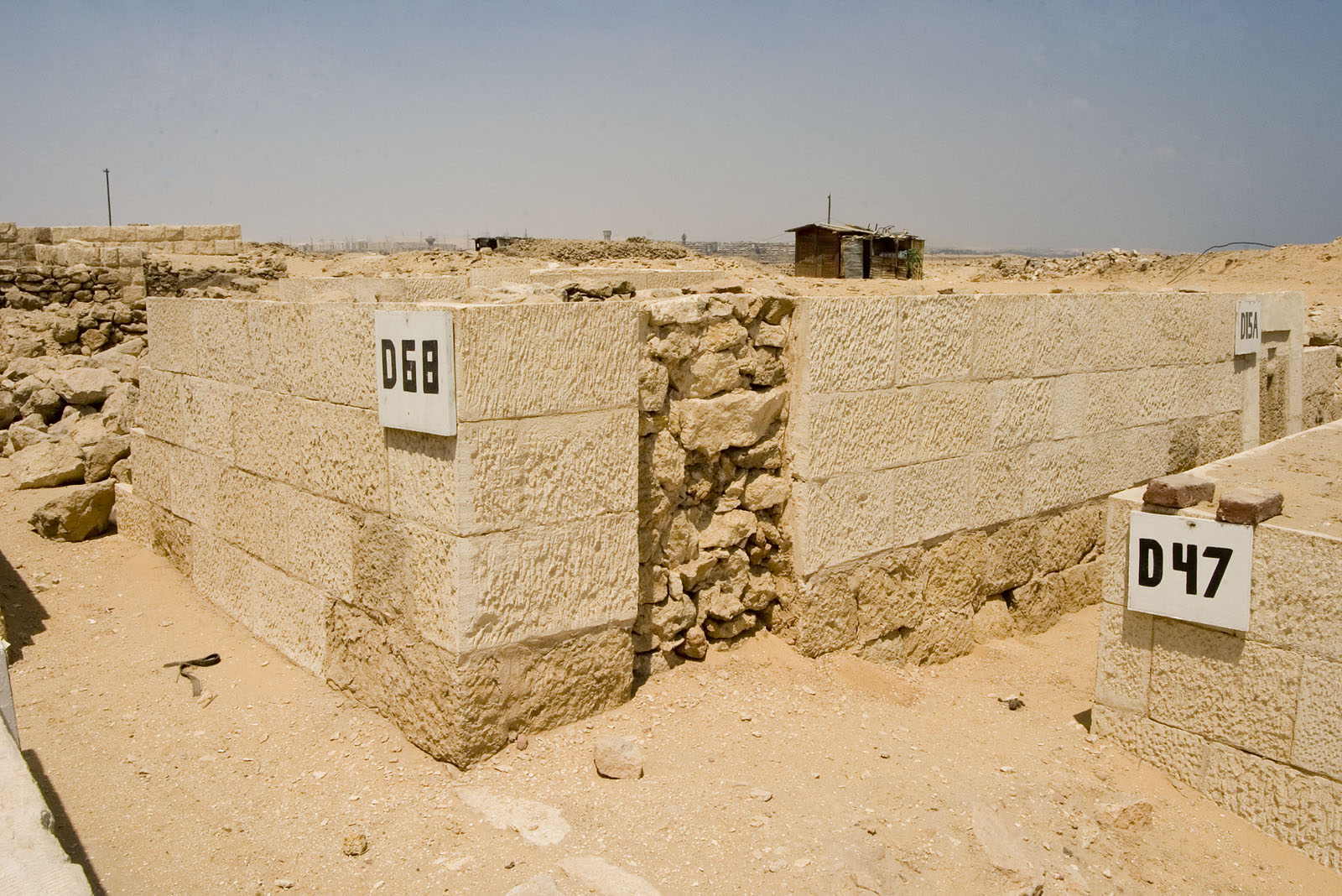 Western Cemetery: Site: Giza; View: D 68, D 47, D 15A