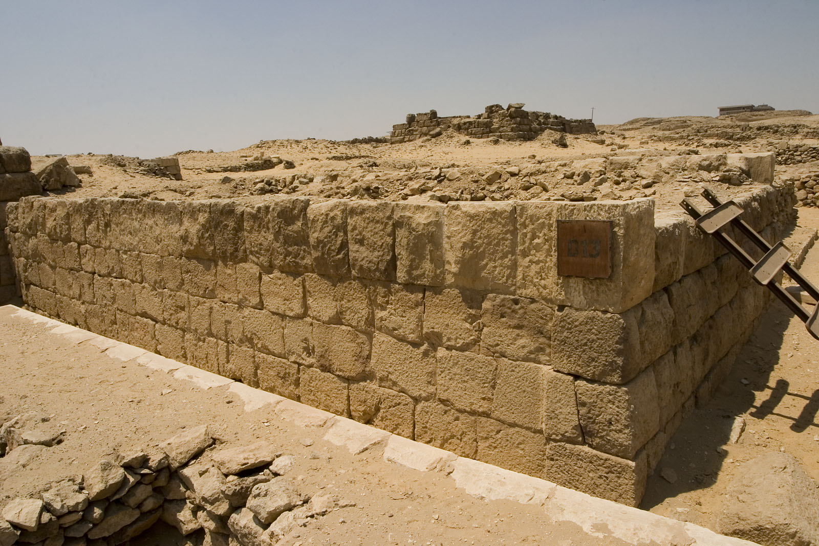 Western Cemetery: Site: Giza; View: D 13