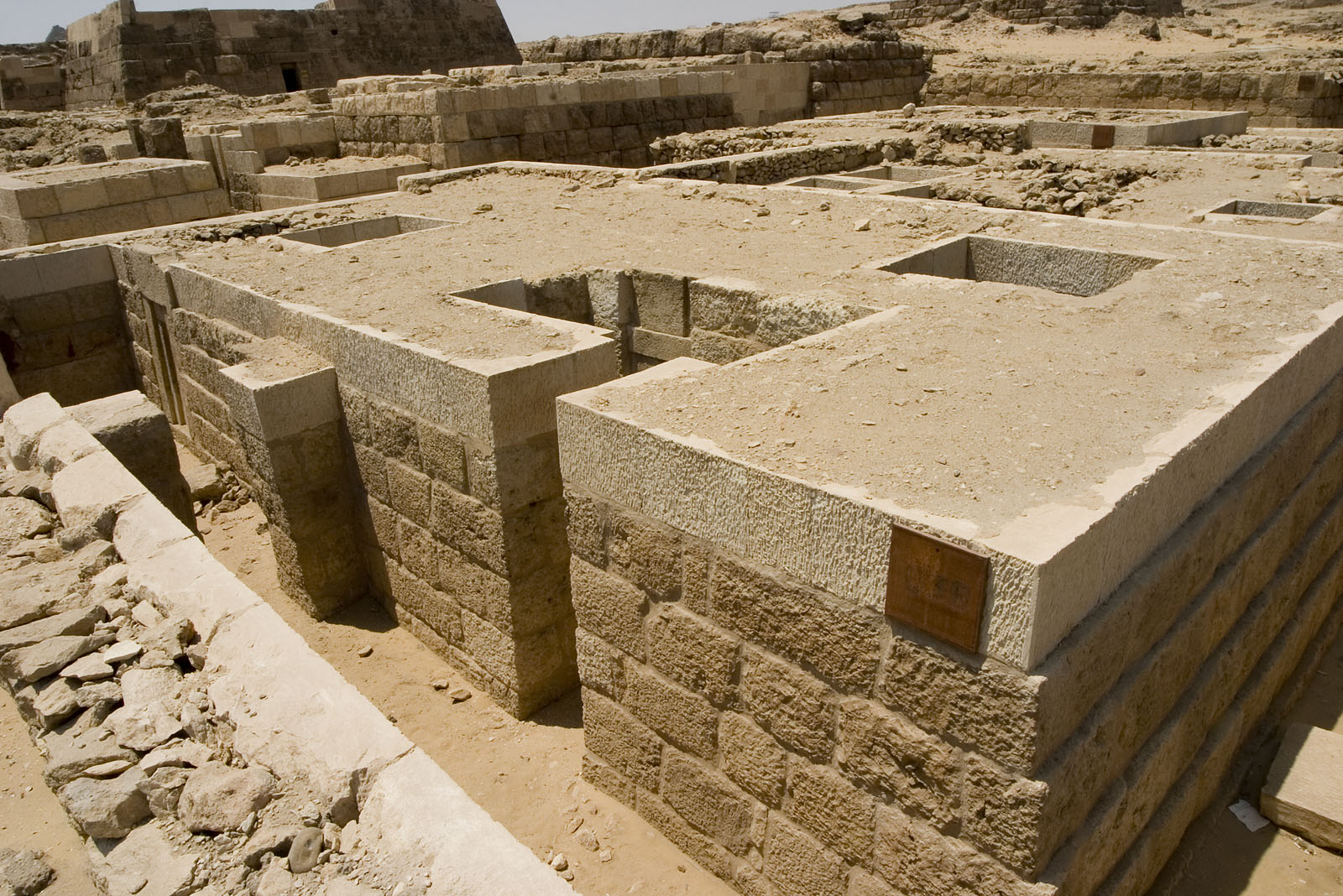Western Cemetery: Site: Giza; View: D 38