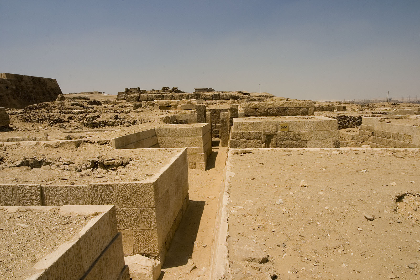 Western Cemetery: Site: Giza; View: D 22