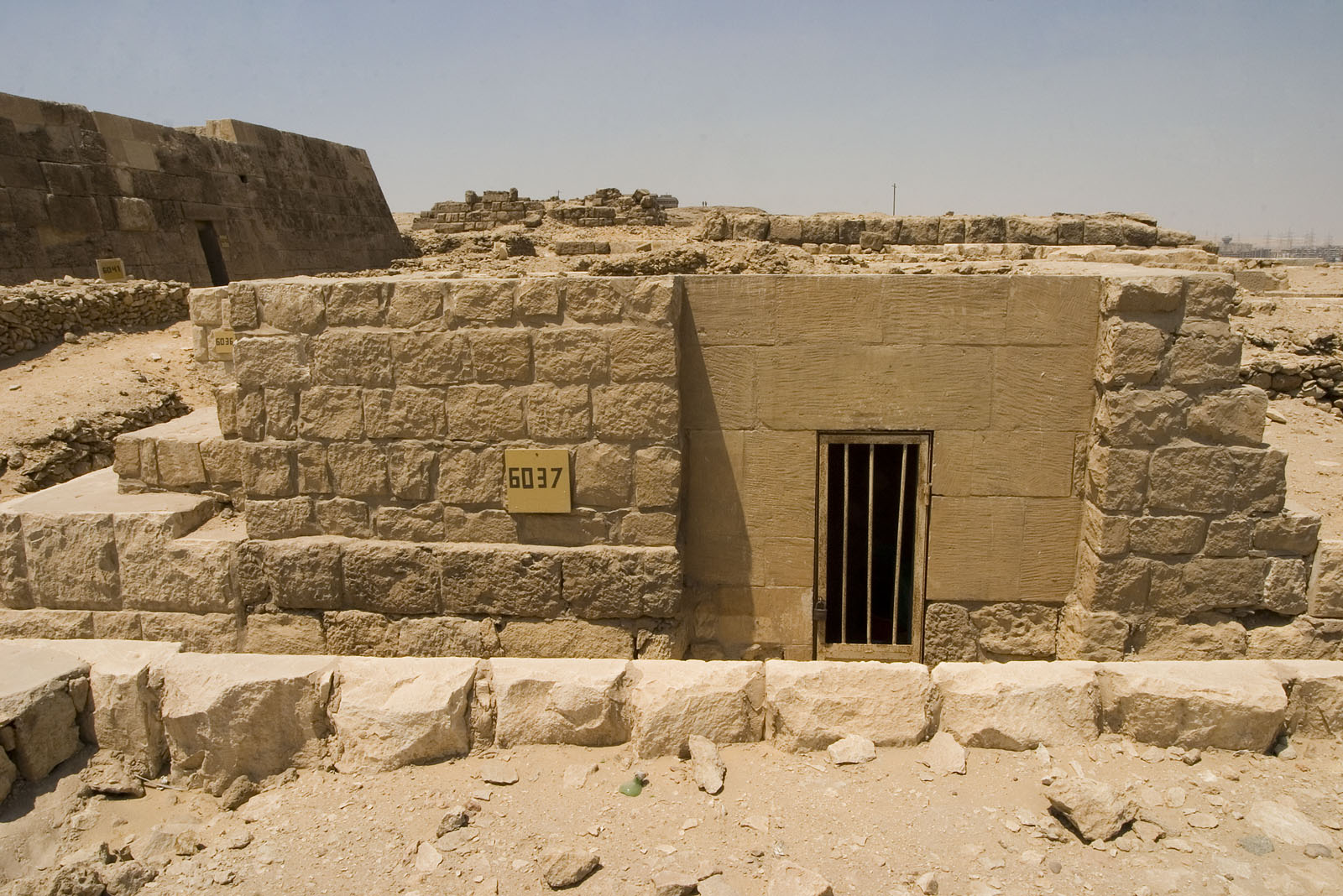 Western Cemetery: Site: Giza; View: G 6037