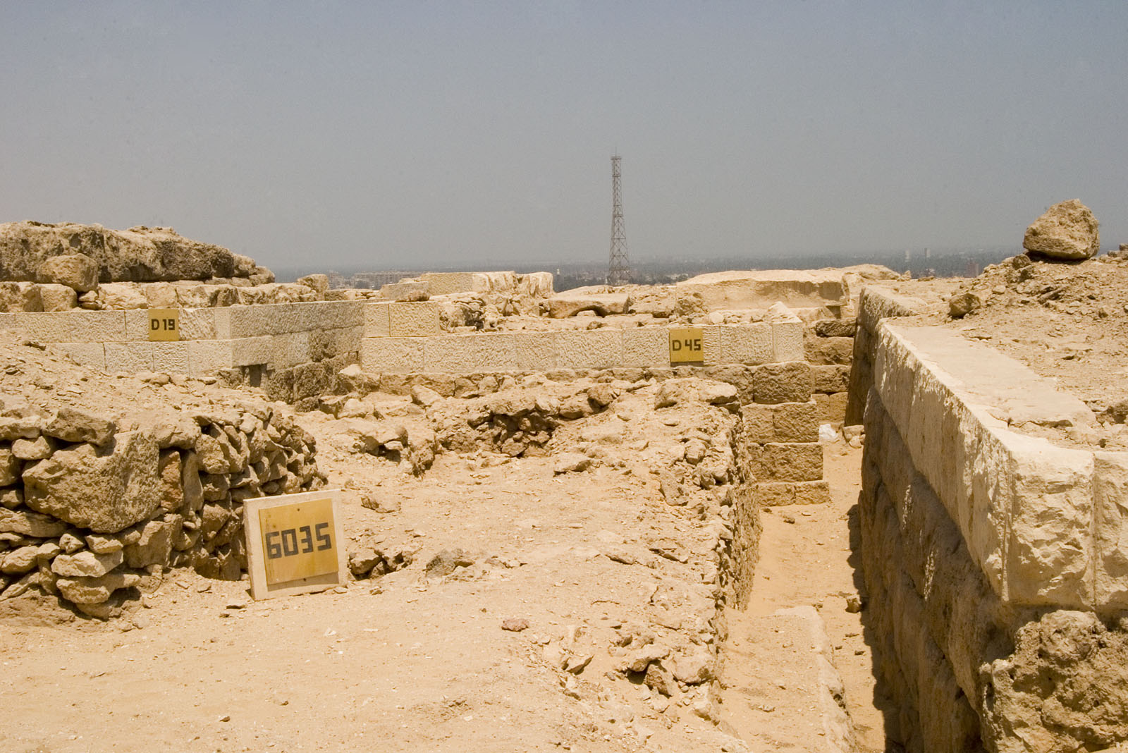 Western Cemetery: Site: Giza; View: G 6035, D 45, D 19