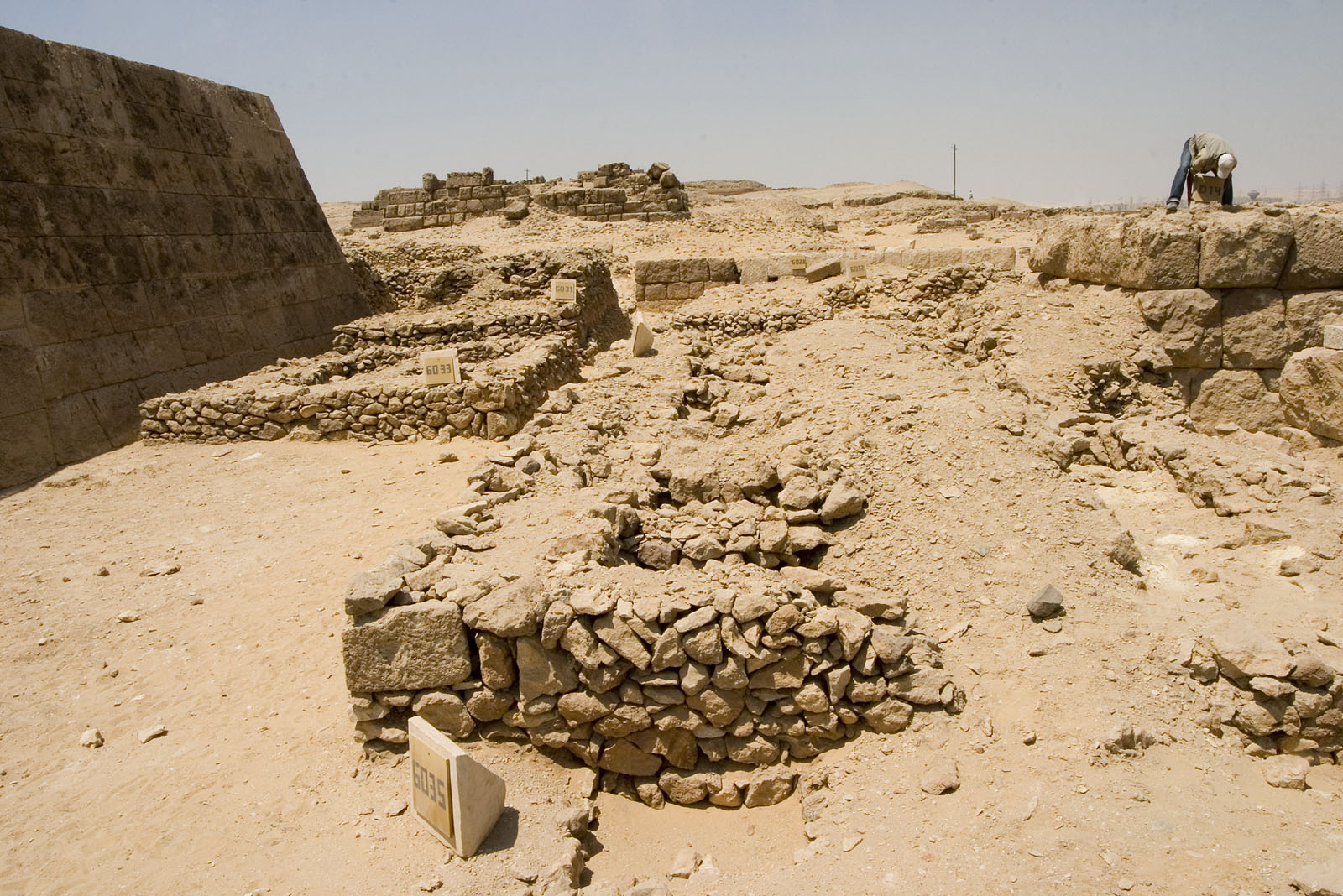 Western Cemetery: Site: Giza; View: G 6035, G 6033