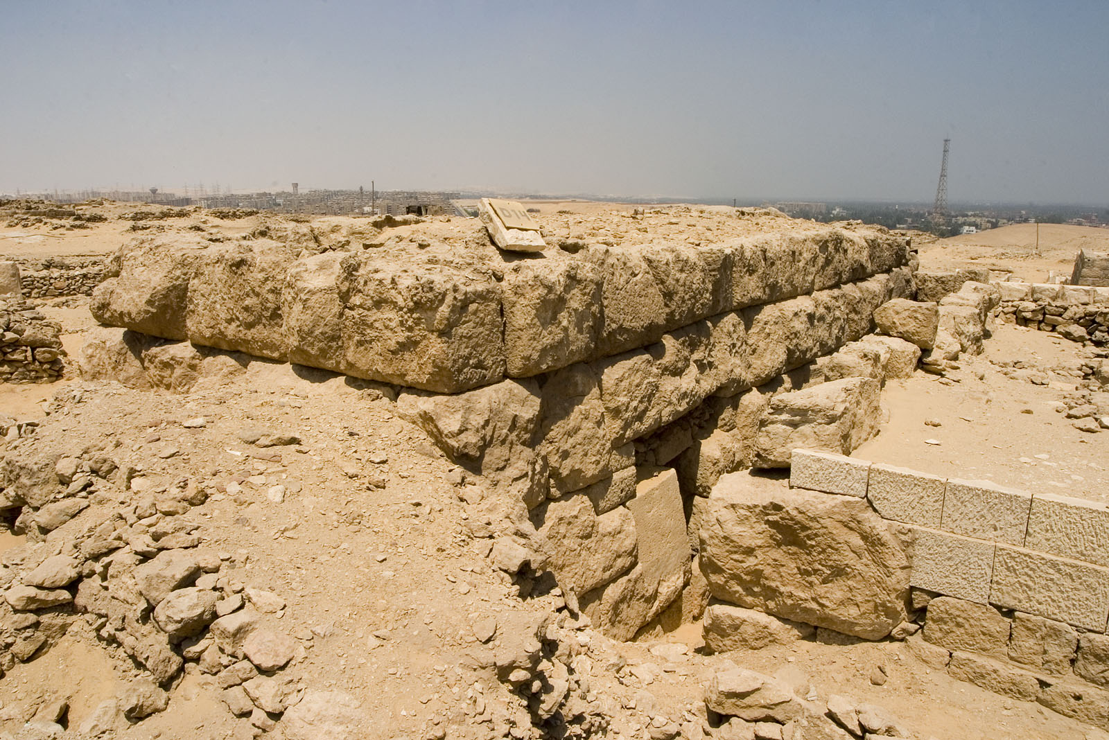 Western Cemetery: Site: Giza; View: D 14