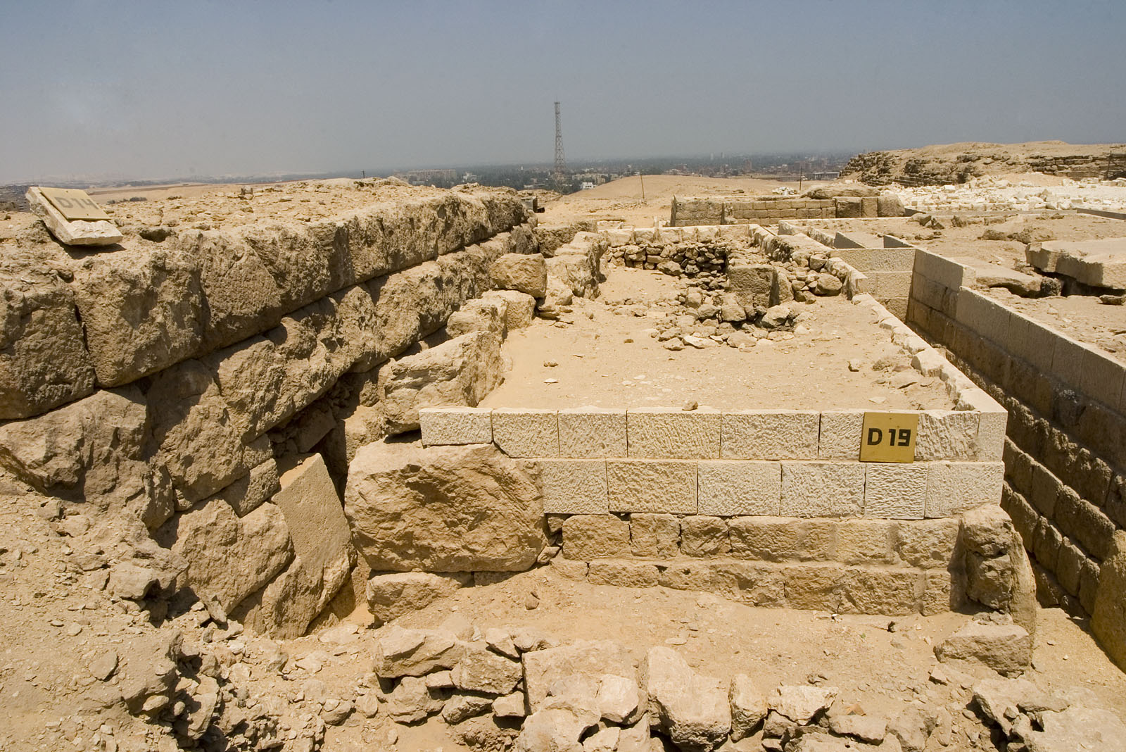 Western Cemetery: Site: Giza; View: D 19