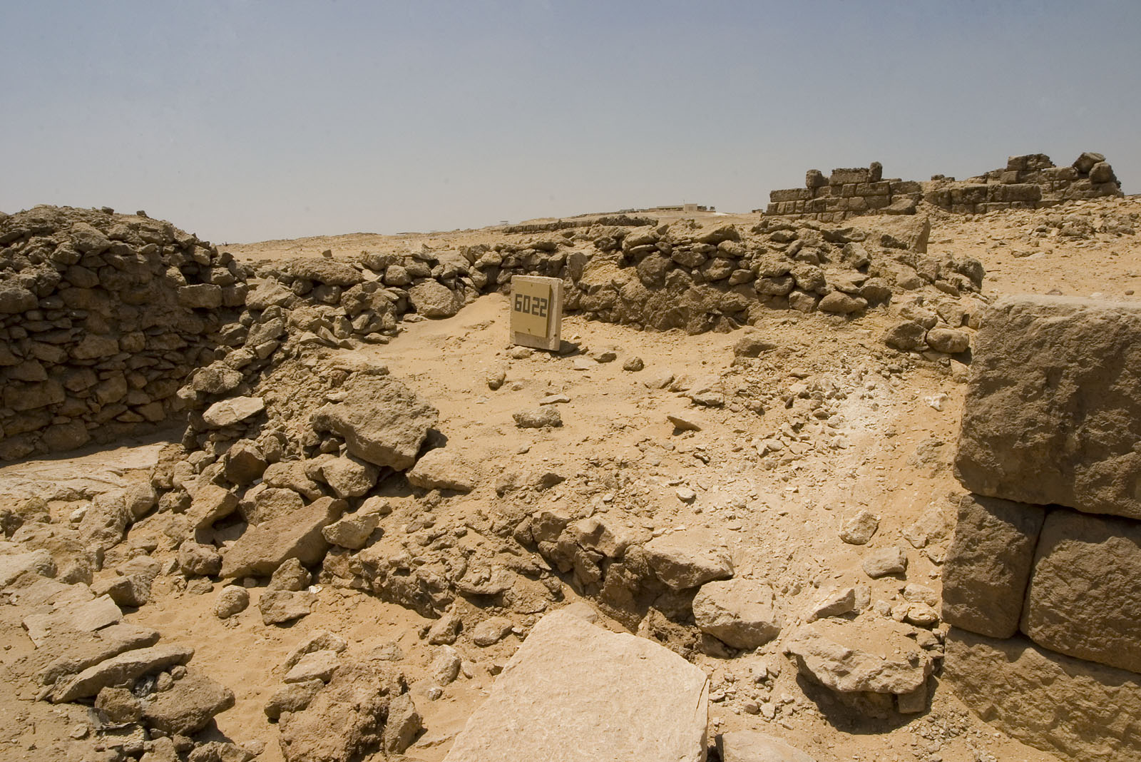 Western Cemetery: Site: Giza; View: G 6022