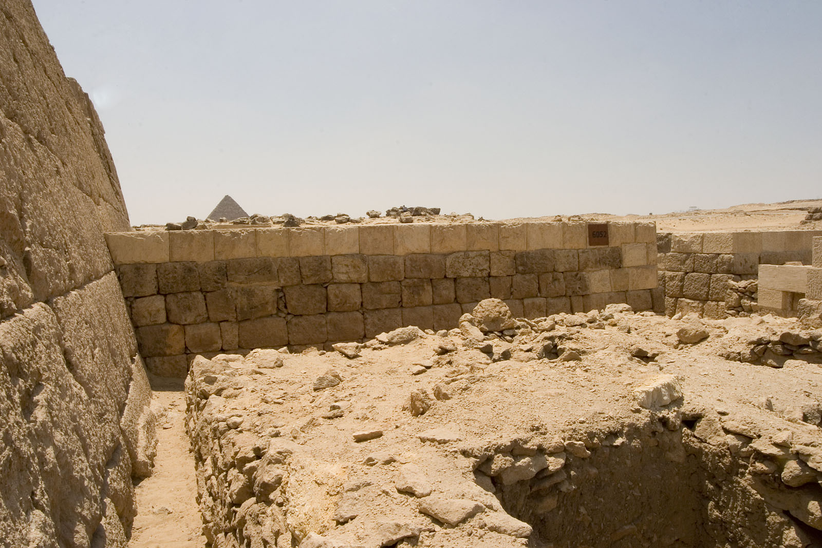 Western Cemetery: Site: Giza; View: G 6052