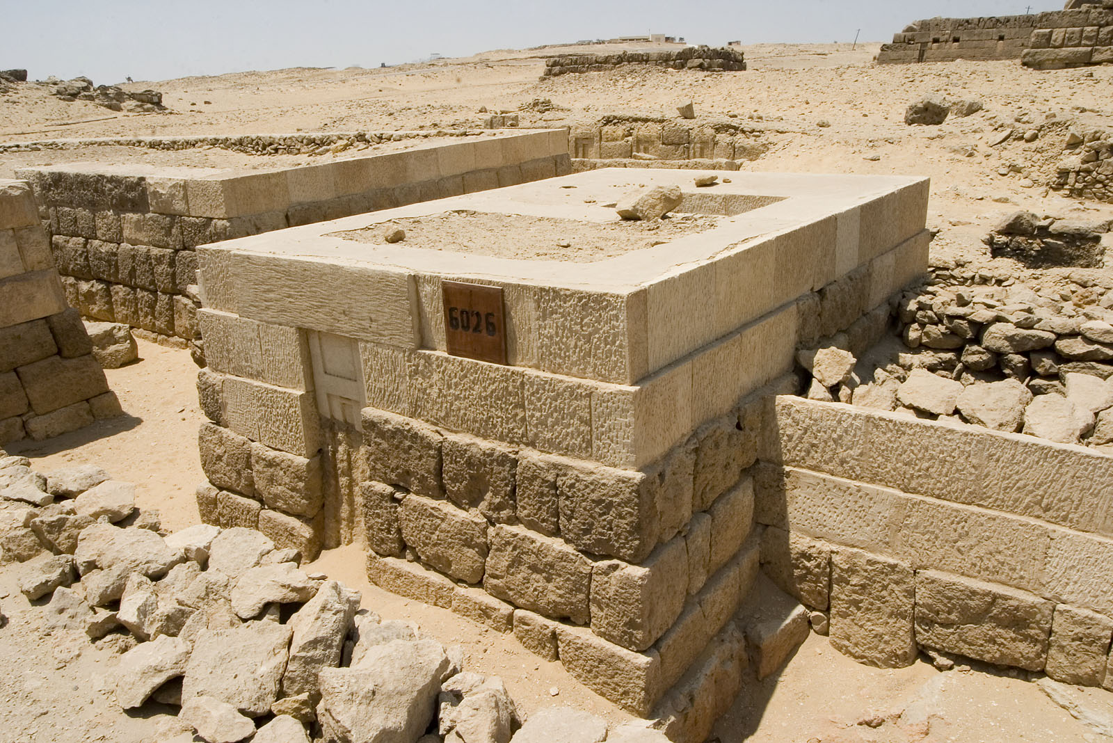 Western Cemetery: Site: Giza; View: G 6026