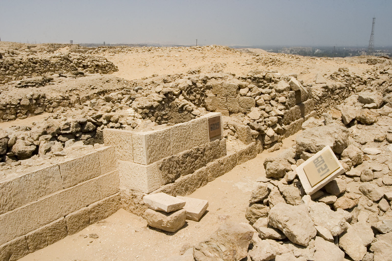 Western Cemetery: Site: Giza; View: G 6025, G 6021