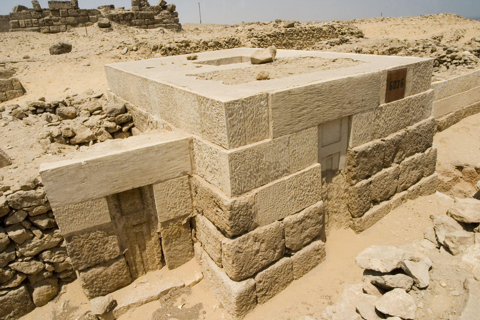 Western Cemetery: Site: Giza; View: G 6026, G 6026a