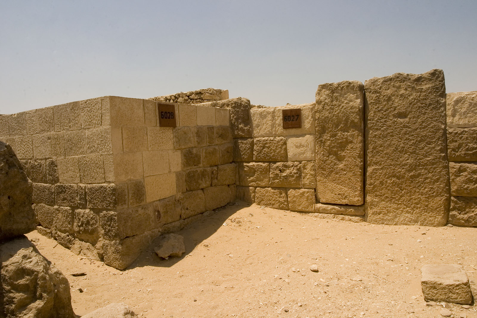 Western Cemetery: Site: Giza; View: G 6028, G 6027