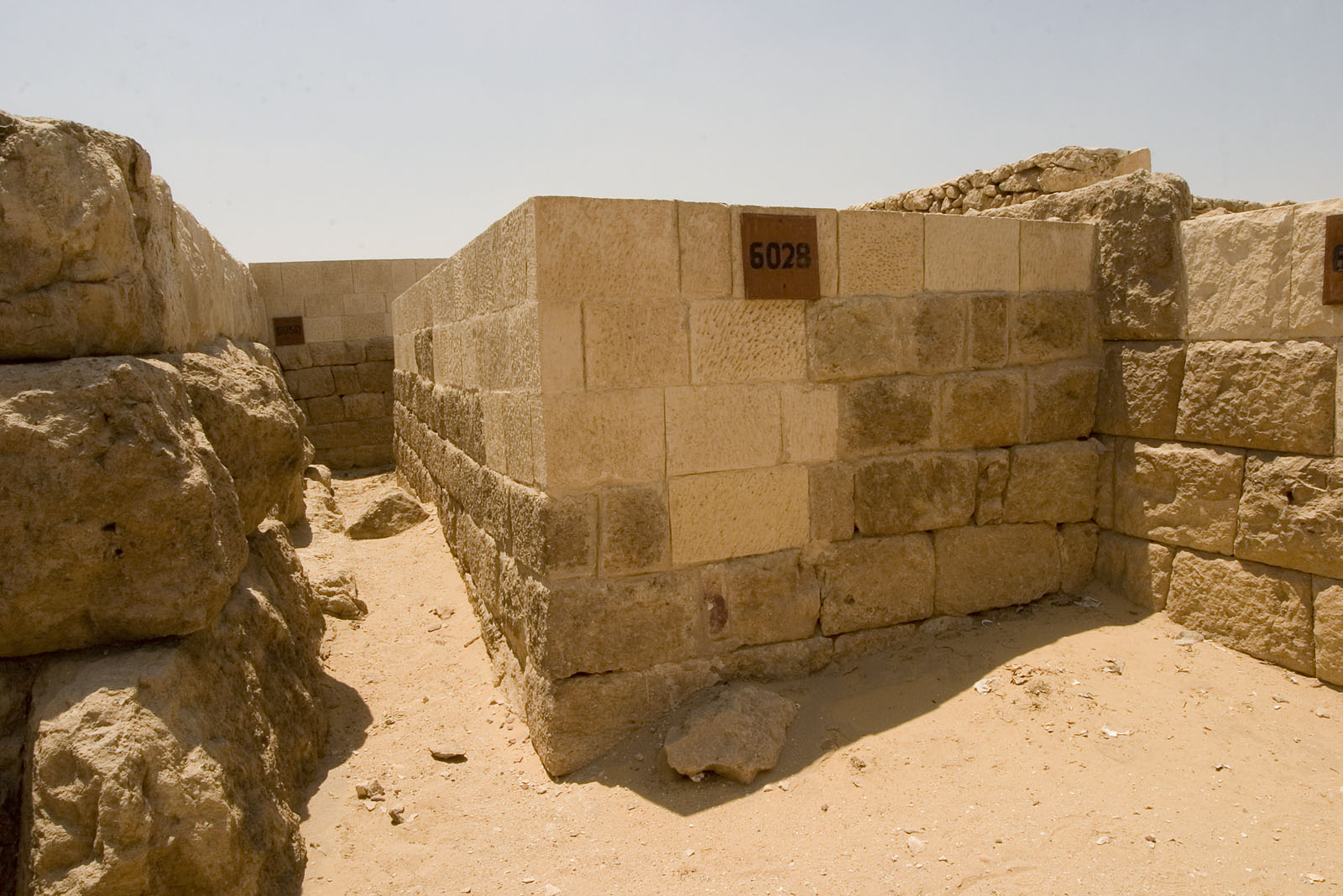 Western Cemetery: Site: Giza; View: G 6028, G 6050