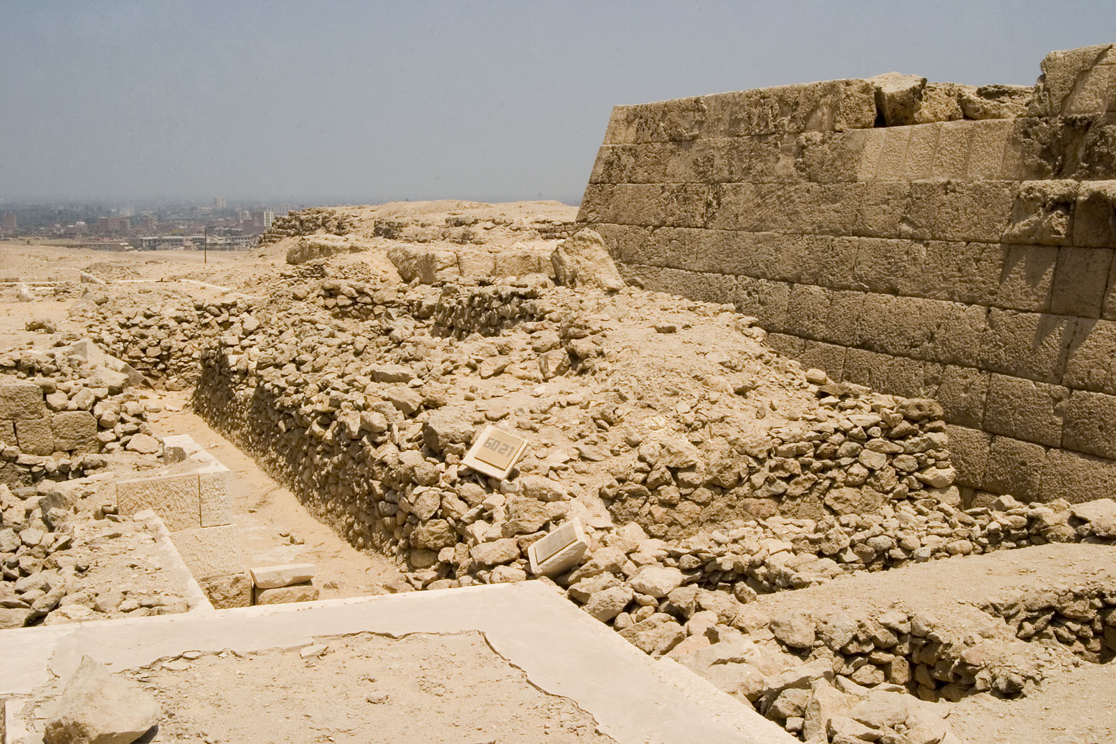 Western Cemetery: Site: Giza; View: G 6021