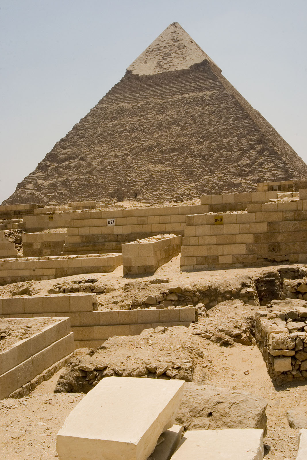 Western Cemetery: Site: Giza; View: D 27, D 40