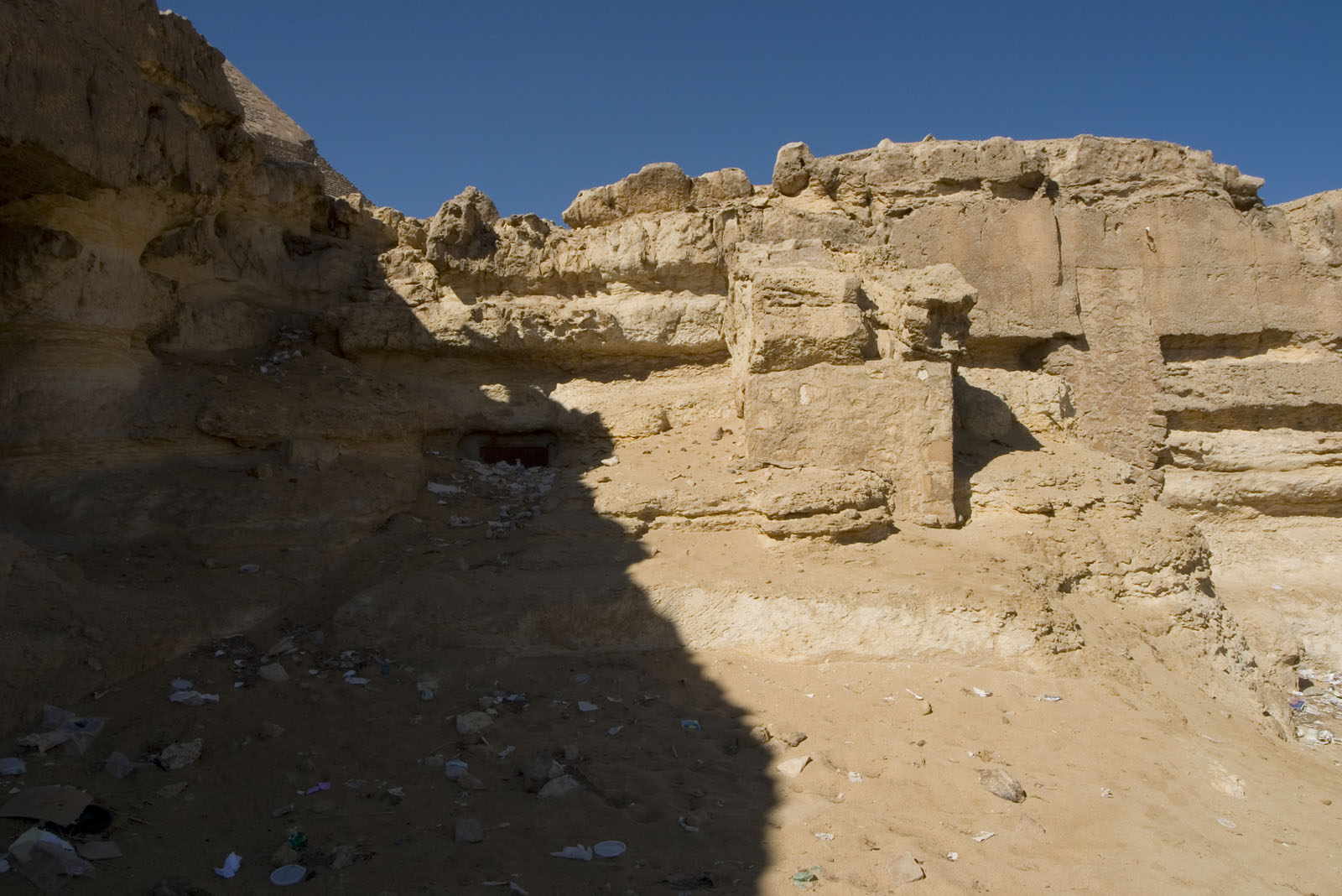 Central Field (Hassan): Site: Giza; View: G 8166, G 8172