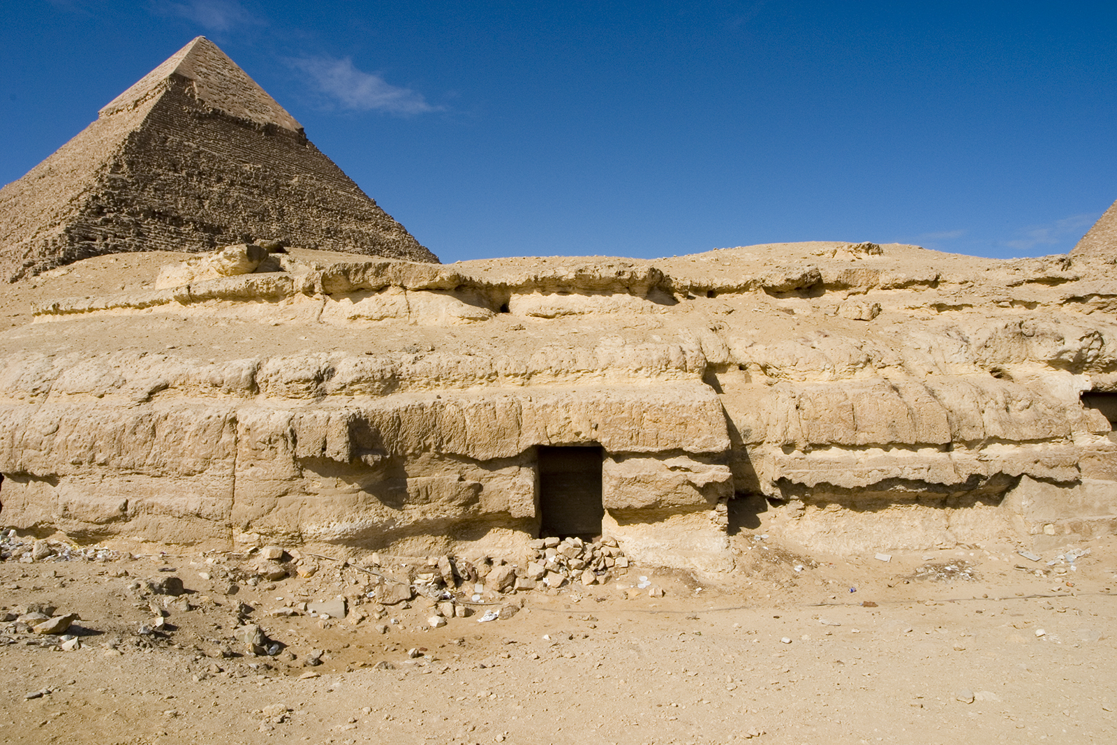 Central Field (Hassan): Site: Giza; View: G 8146