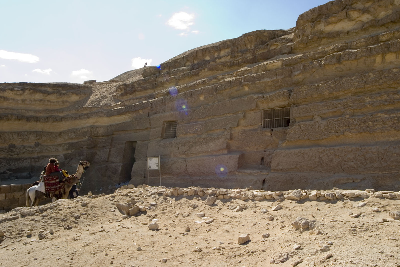 Central Field (Hassan): Site: Giza; View: G 8090