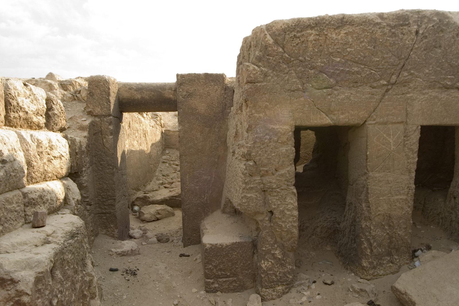 Eastern Cemetery: Site: Giza, View: G 7710, Sensnefru