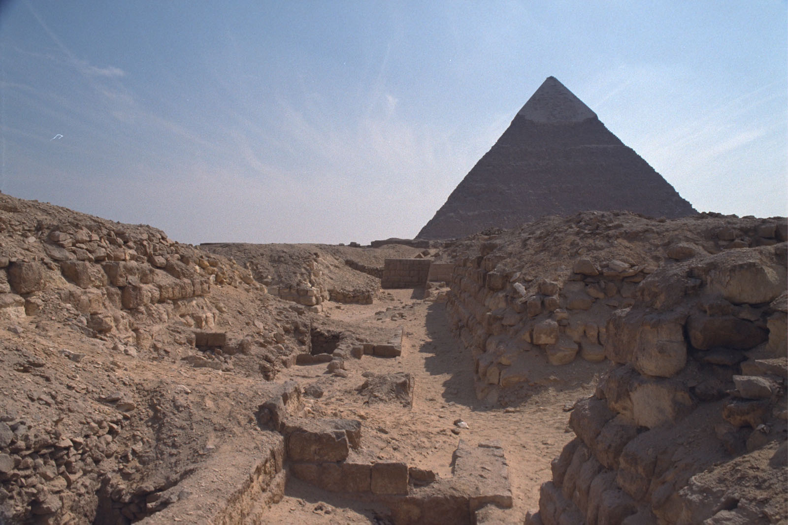 Western Cemetery: Site: Giza; View: G 2170, G 2171, G 2169, G 2168, G 2167, G 2166