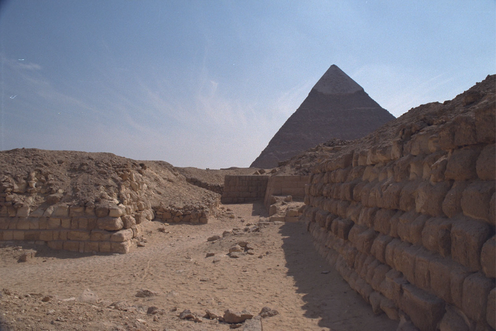 Western Cemetery: Site: Giza; View: G 2160, G 2167, G 2166, G 2165