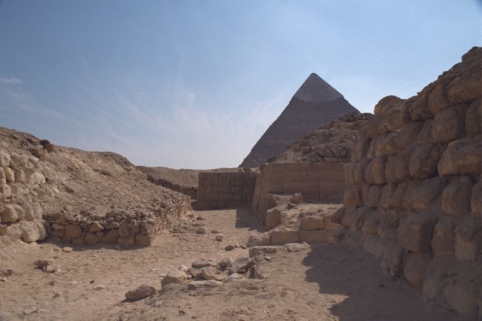 Western Cemetery: Site: Giza; View: G 2160, G 2165, G 4984