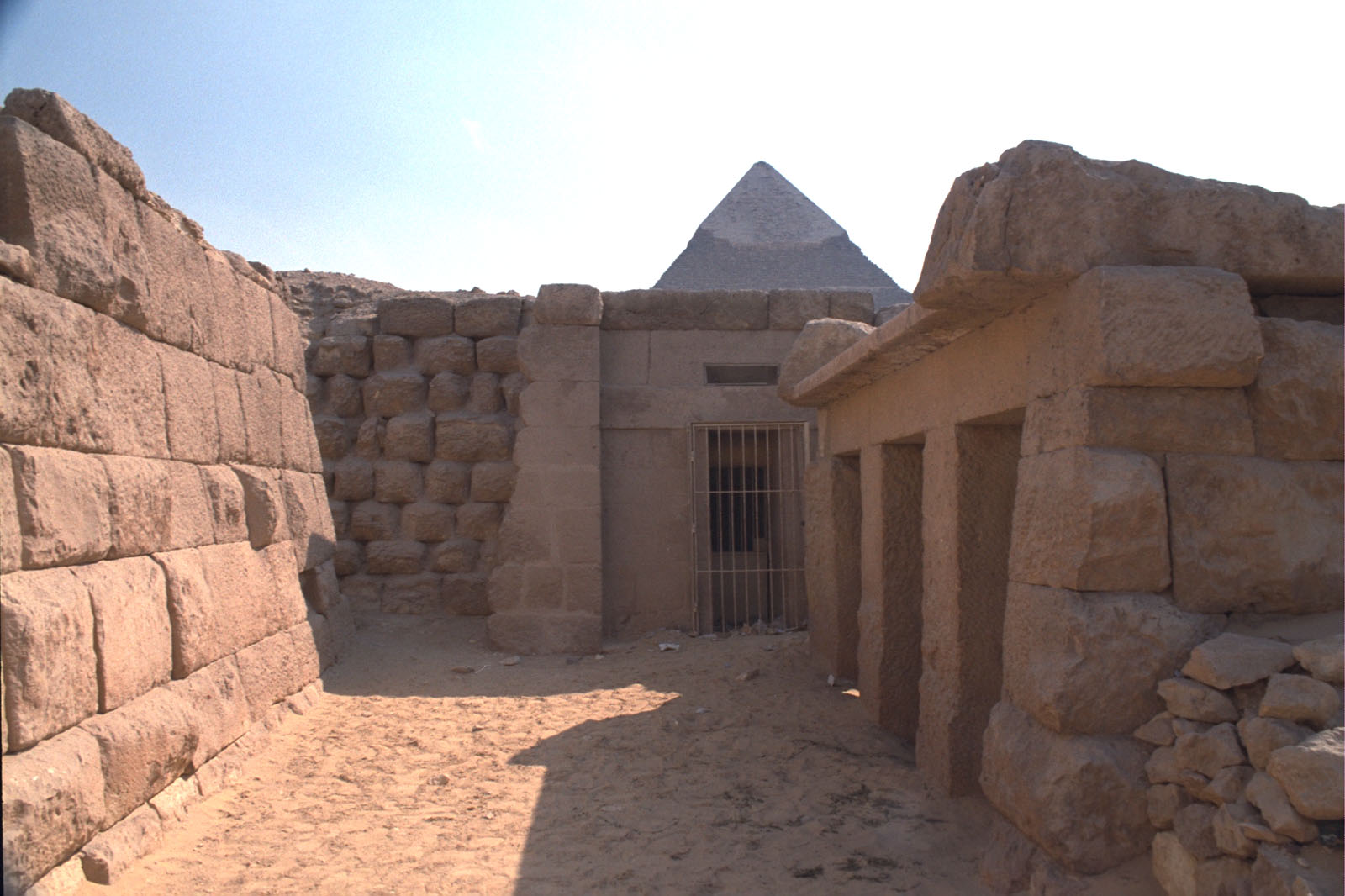 Western Cemetery: Site: Giza; View: Qedfy (G 2135a), G 2155, G 4761