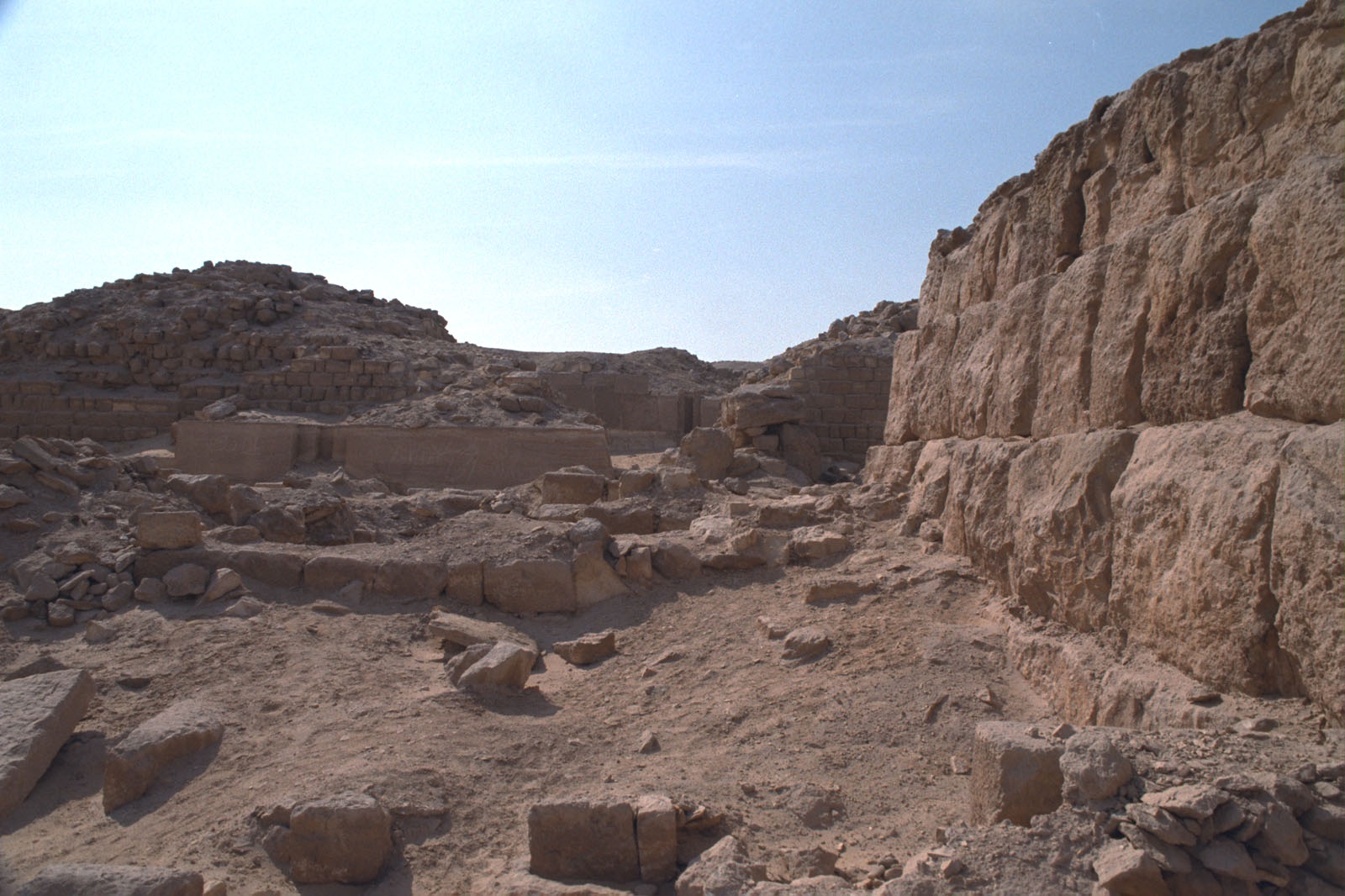 Western Cemetery: Site: Giza; View: G 2138, G 2137, G 2134