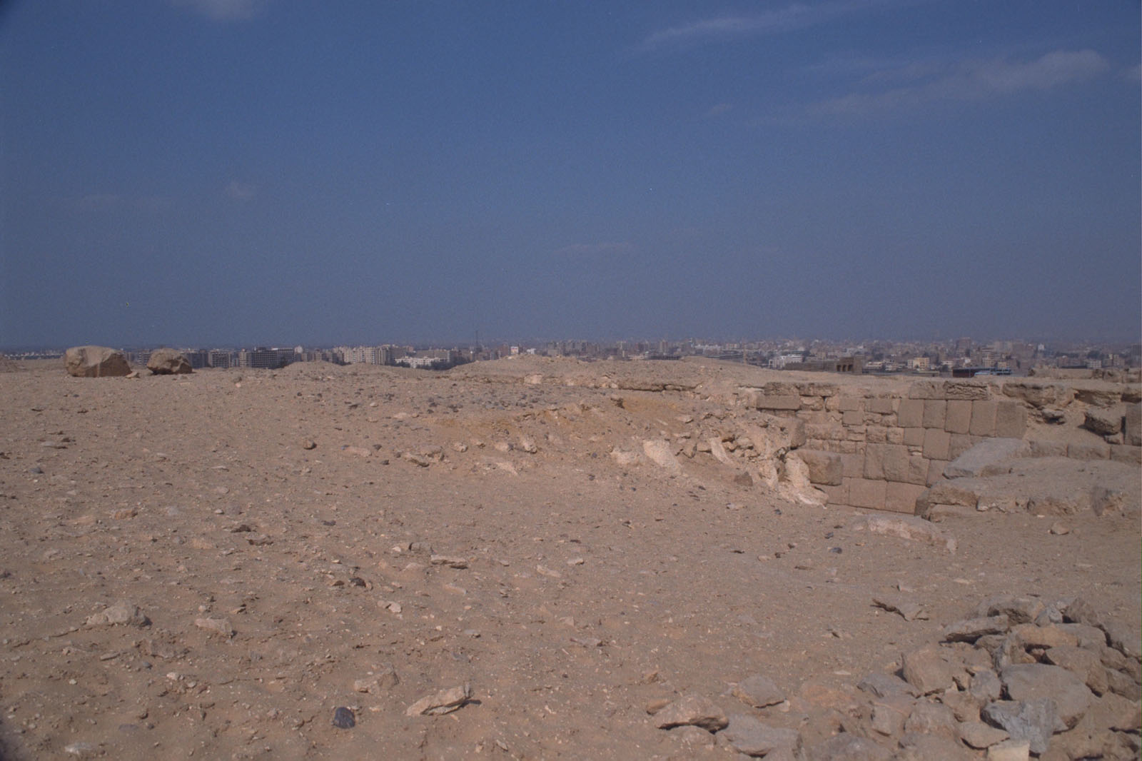 Western Cemetery: Site: Giza; View: Qedfy (G 2135a), G 2135, G 2155