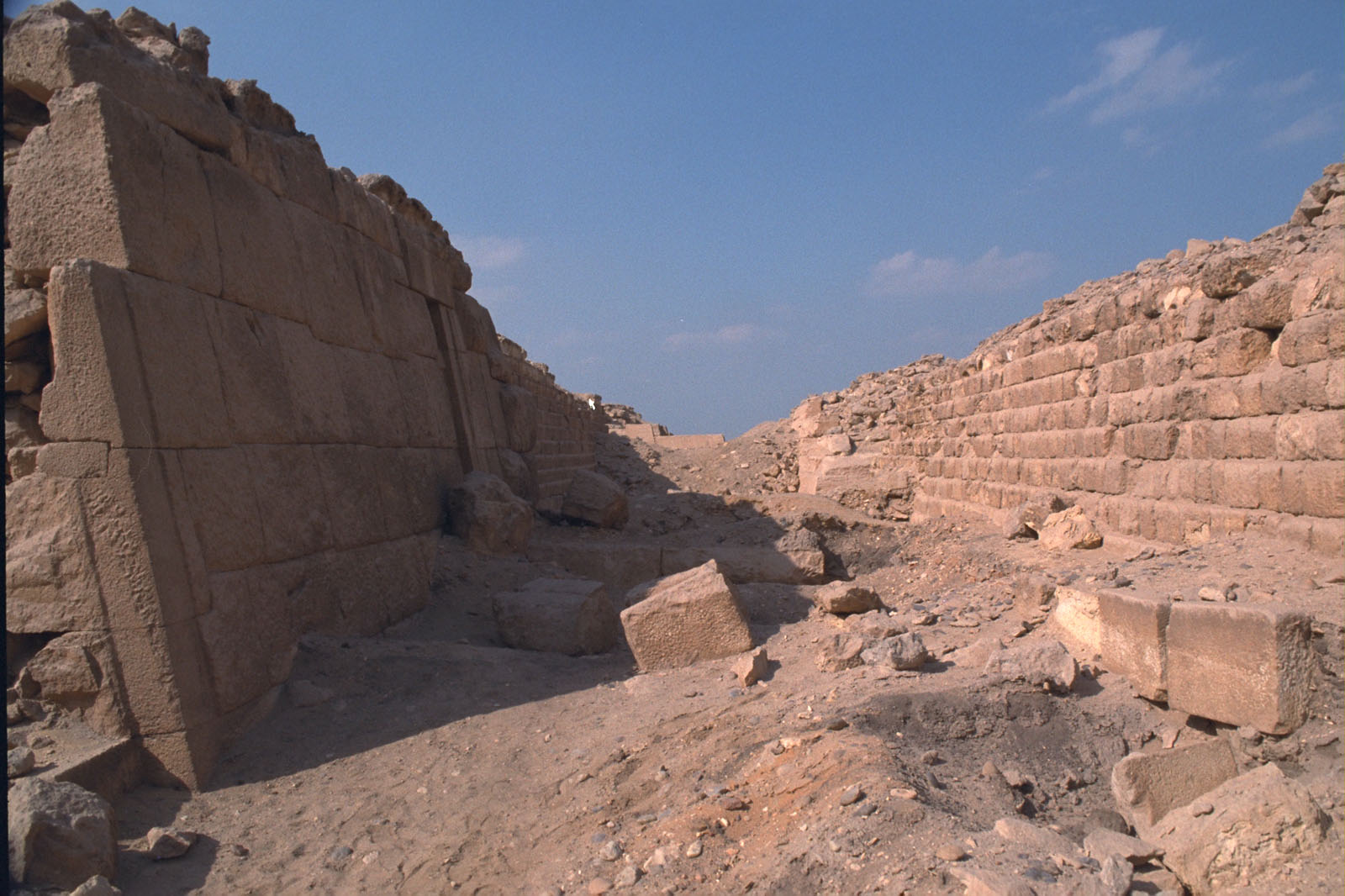 Western Cemetery: Site: Giza; View: G 2100-I, G 2120, G 2103, G 2104