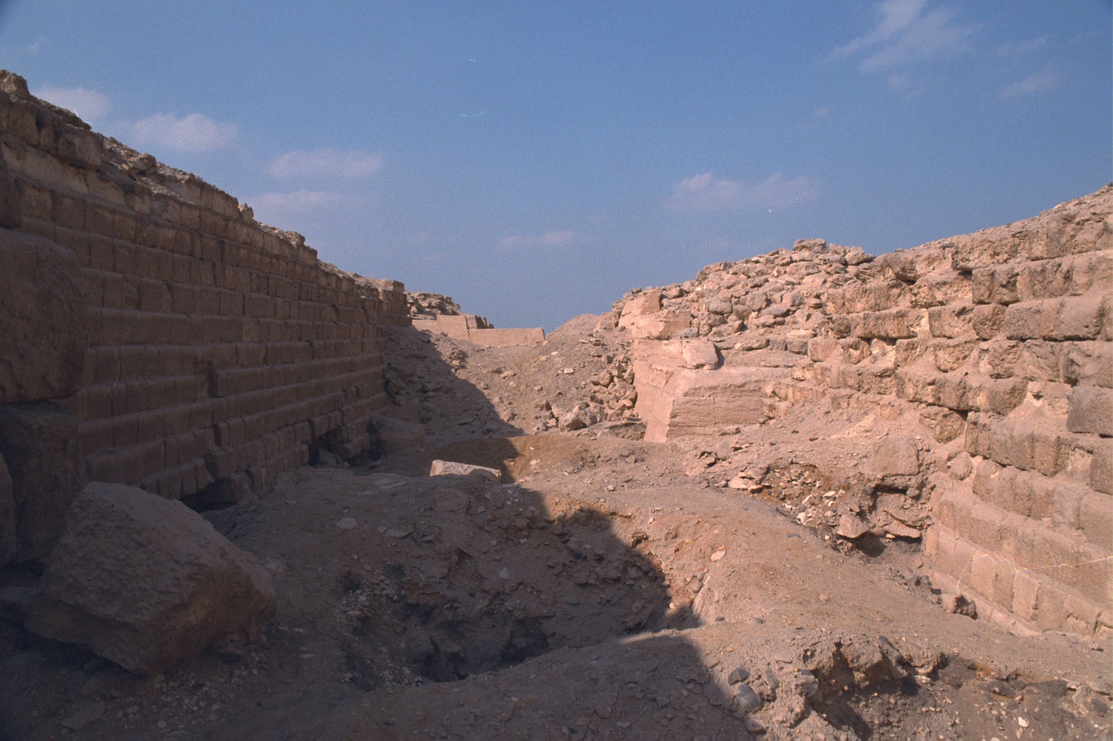 Western Cemetery: Site: Giza; View: G 2100, G 2120, G 2130, G 2104, G 2105