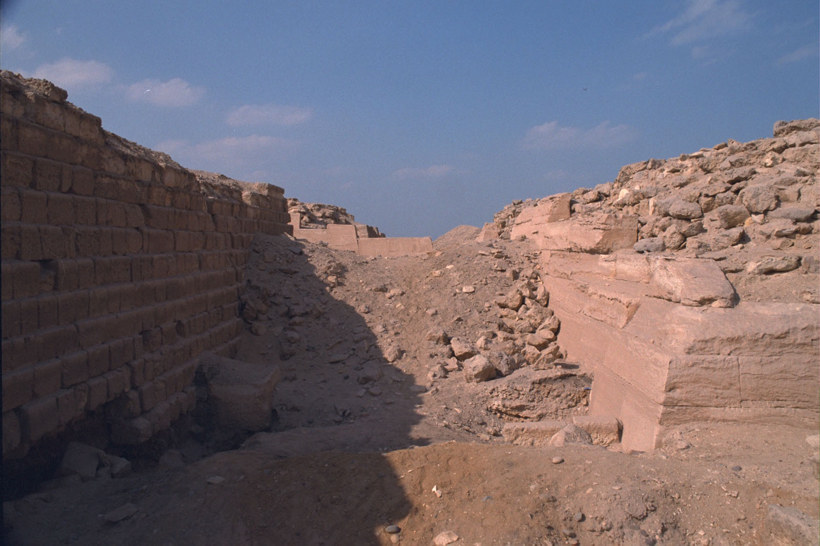 Western Cemetery: Site: Giza; View: G 2100, G 2130, G 2105, G 2114