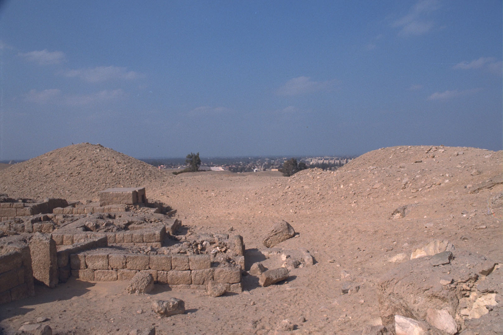 Western Cemetery: Site: Giza; View: G 2210, G 2246, G 2243, G 2240, G 2231