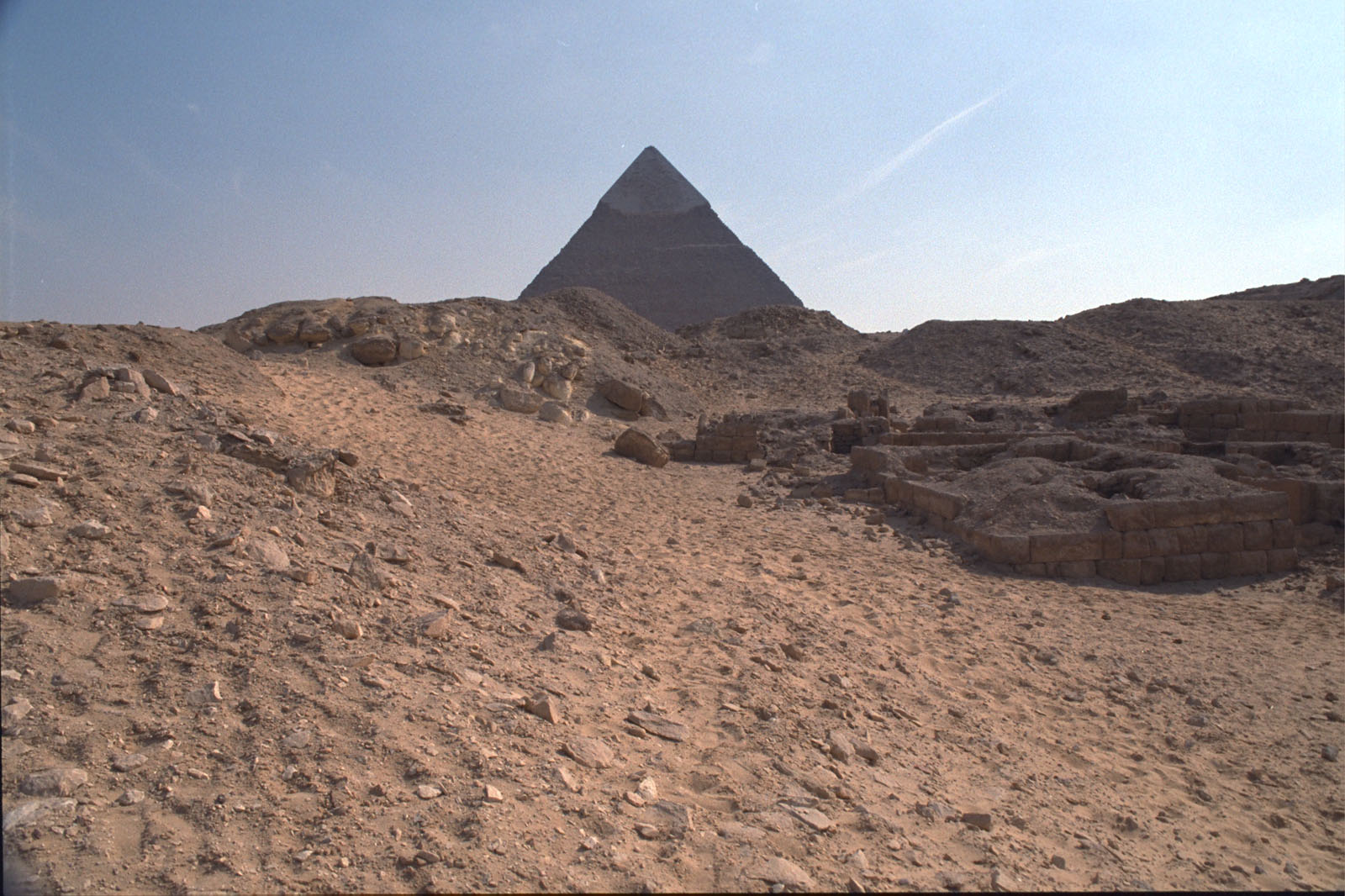 Western Cemetery: Site: Giza; View: G 2245, G 2244, G 2246, G 2243, G 2240, G 2231