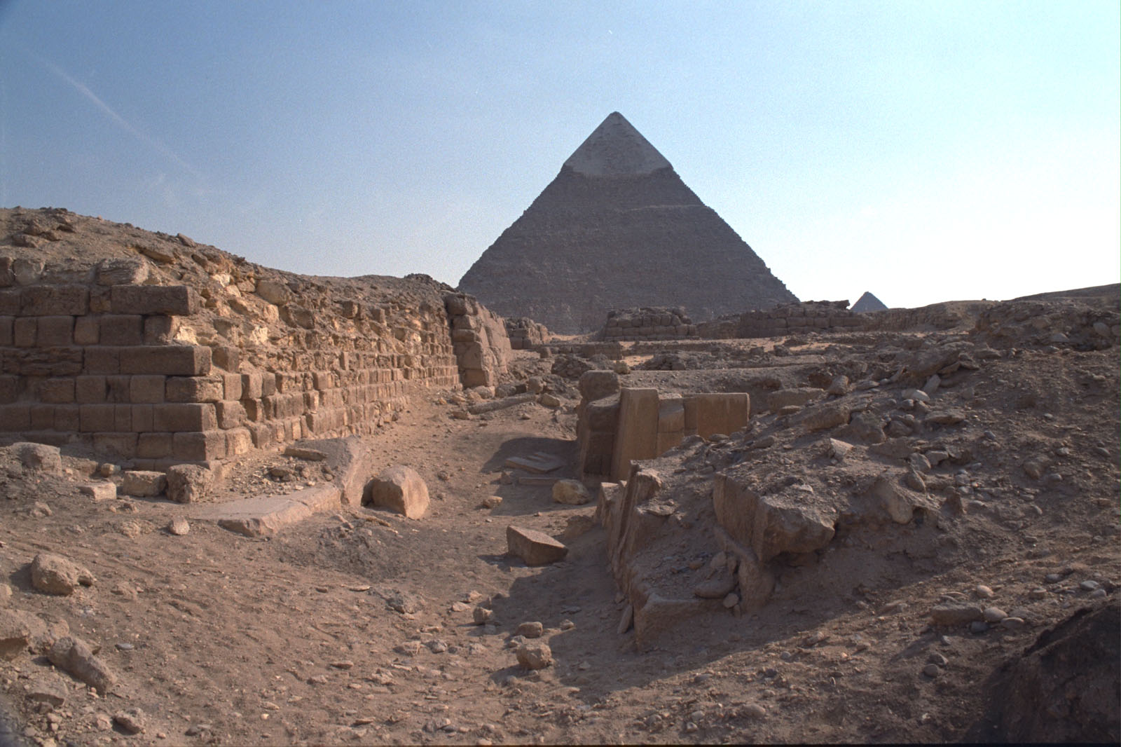 Western Cemetery: Site: Giza; View: G 2100, G 2100-I, G 2051, G 2041