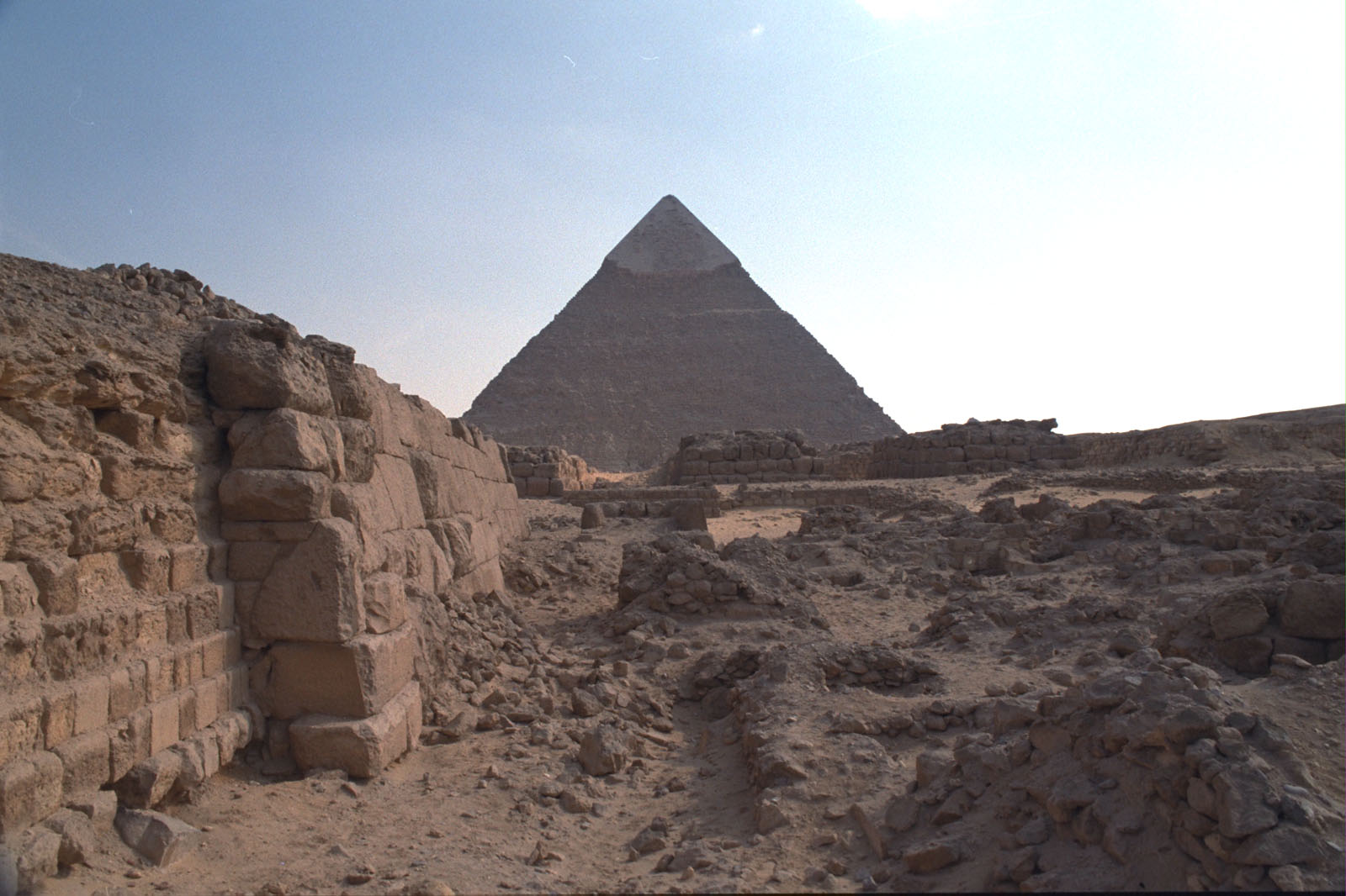 Western Cemetery: Site: Giza; View: G 2100, G 2100-I, G 2022, G 2021