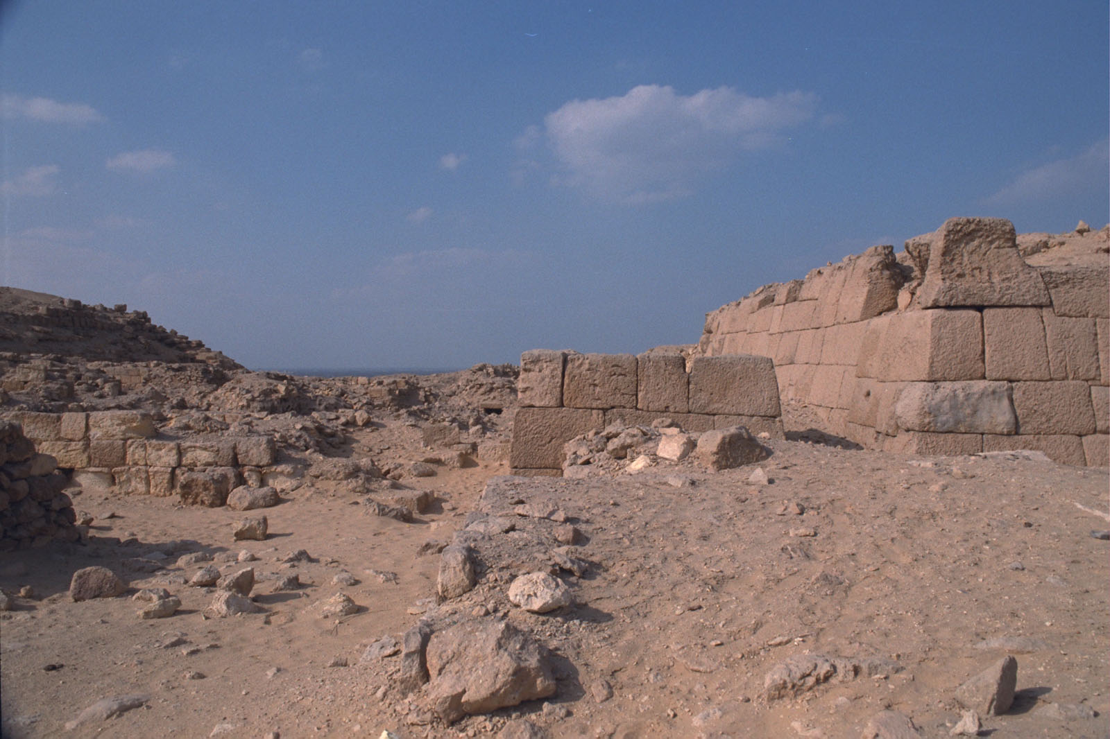 Western Cemetery: Site: Giza; View: G 2015, G 2017, G 2100-I