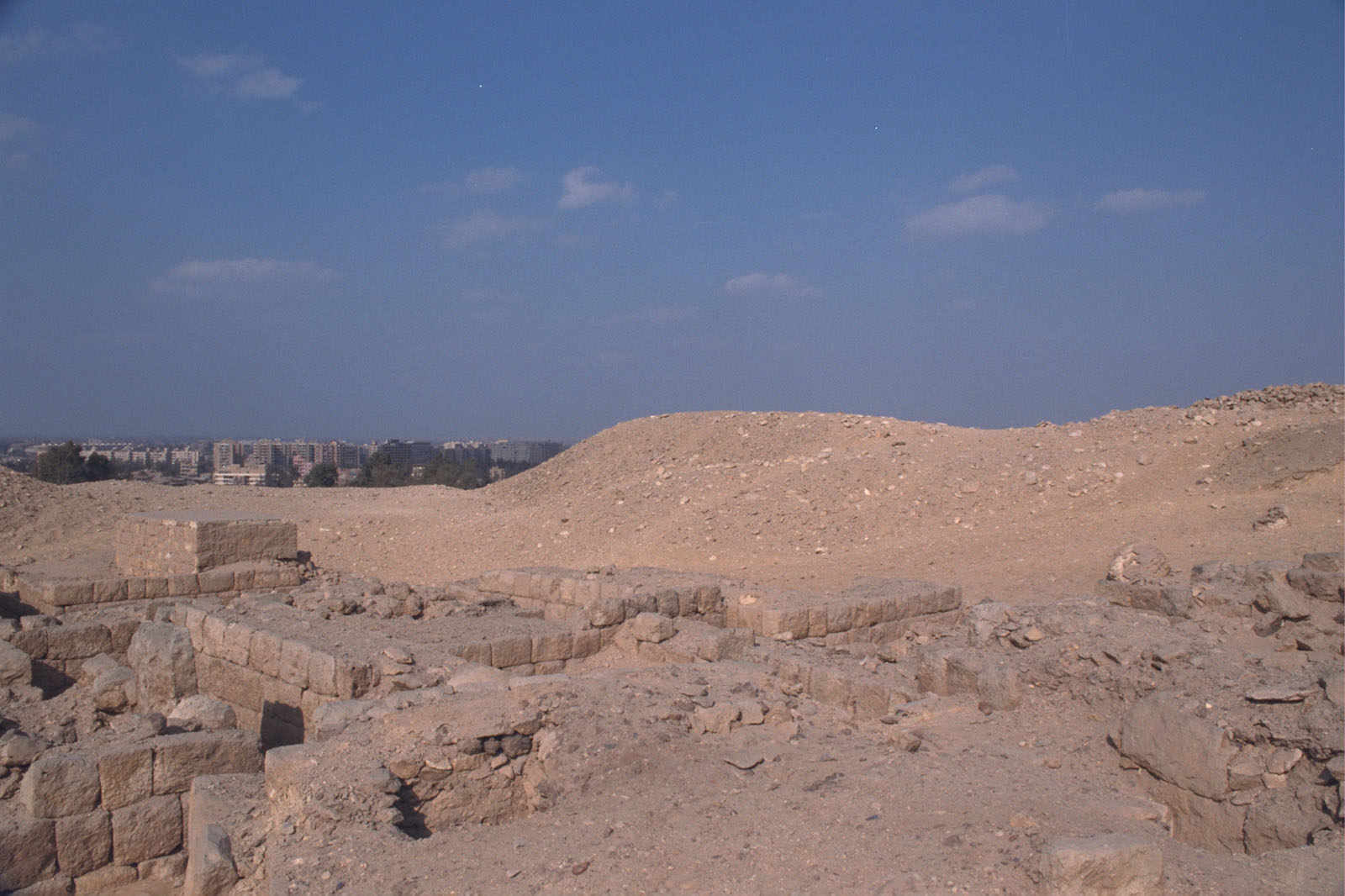 Western Cemetery: Site: Giza; View: G 2246, G 2243, G 2242