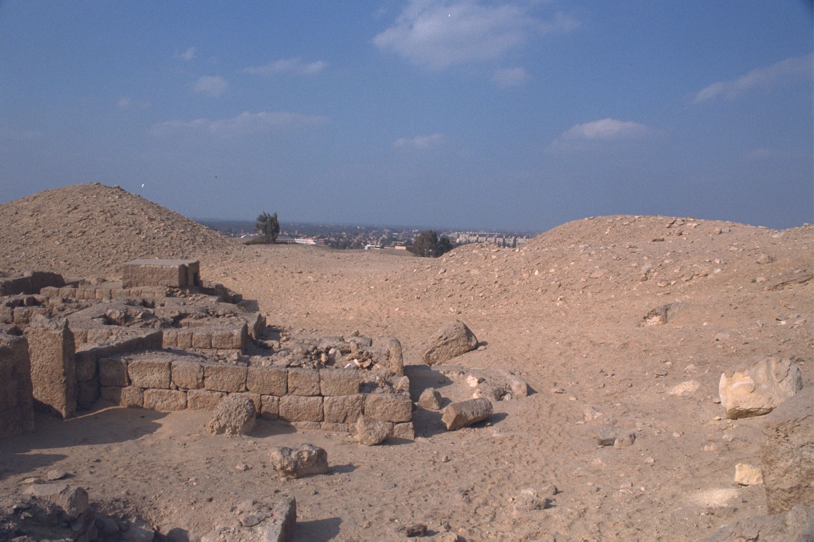 Western Cemetery: Site: Giza; View: G 2244, G 2246, G 2240