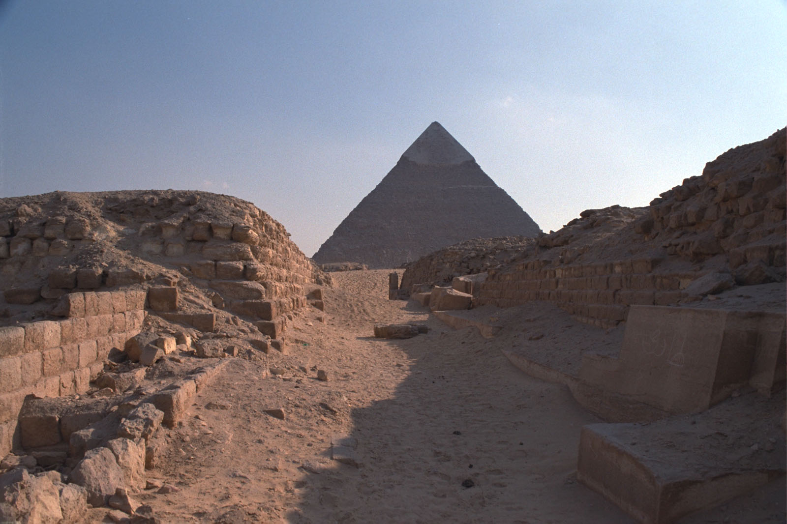 Western Cemetery: Site: Giza; View: G 2131, G 2132, G 2150, G 2130