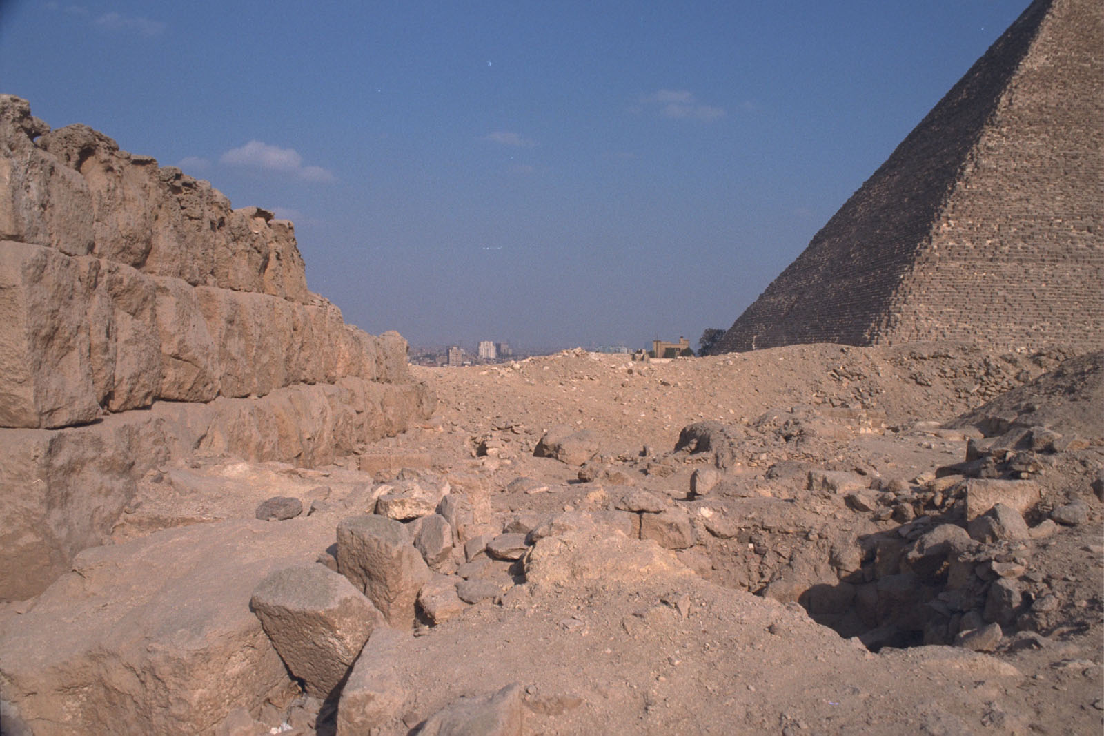 Western Cemetery: Site: Giza; View: G 2220, G 2137, G 2138, G 2139, G 2156'